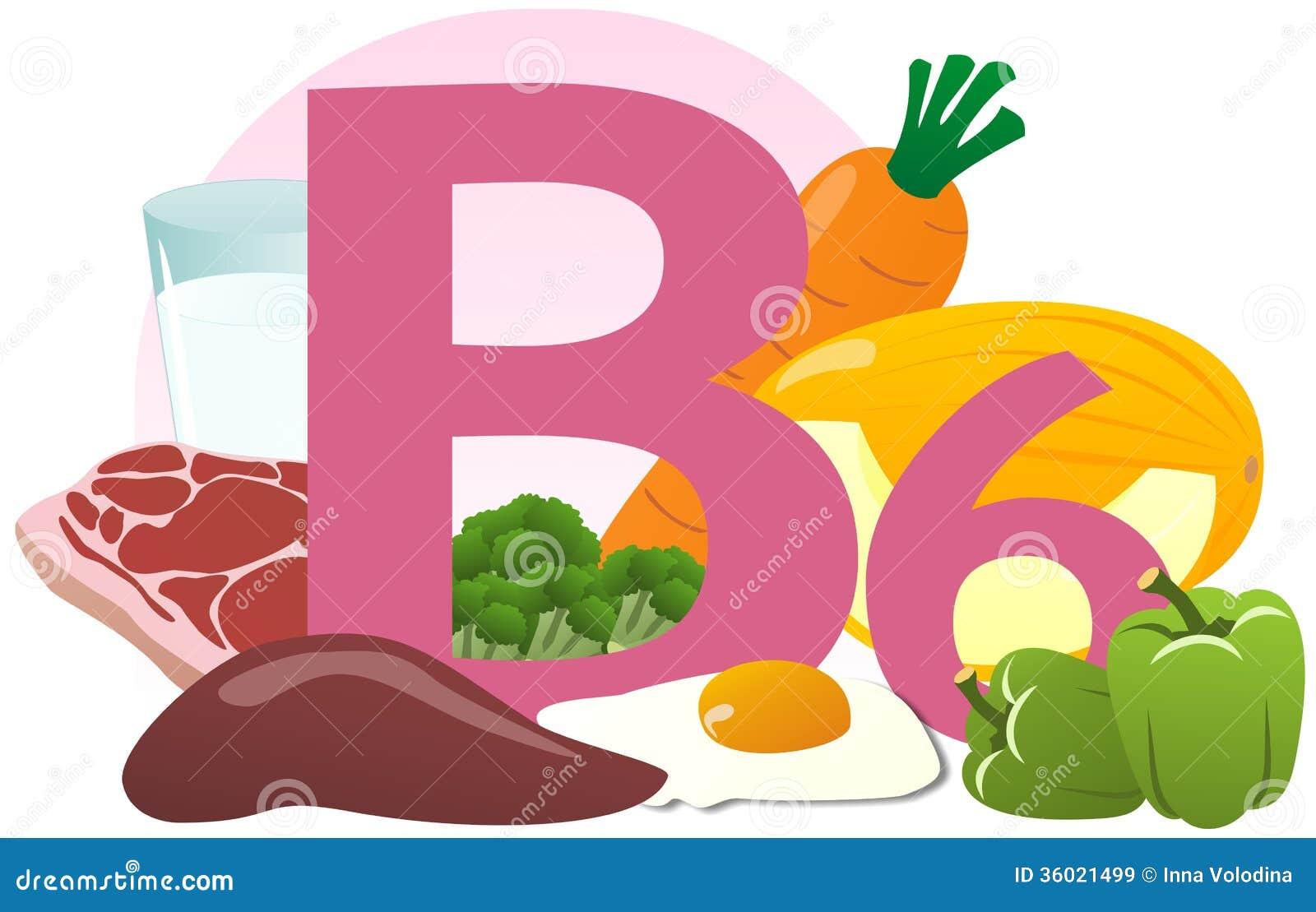 vitamina b2 y b6 alimentos
