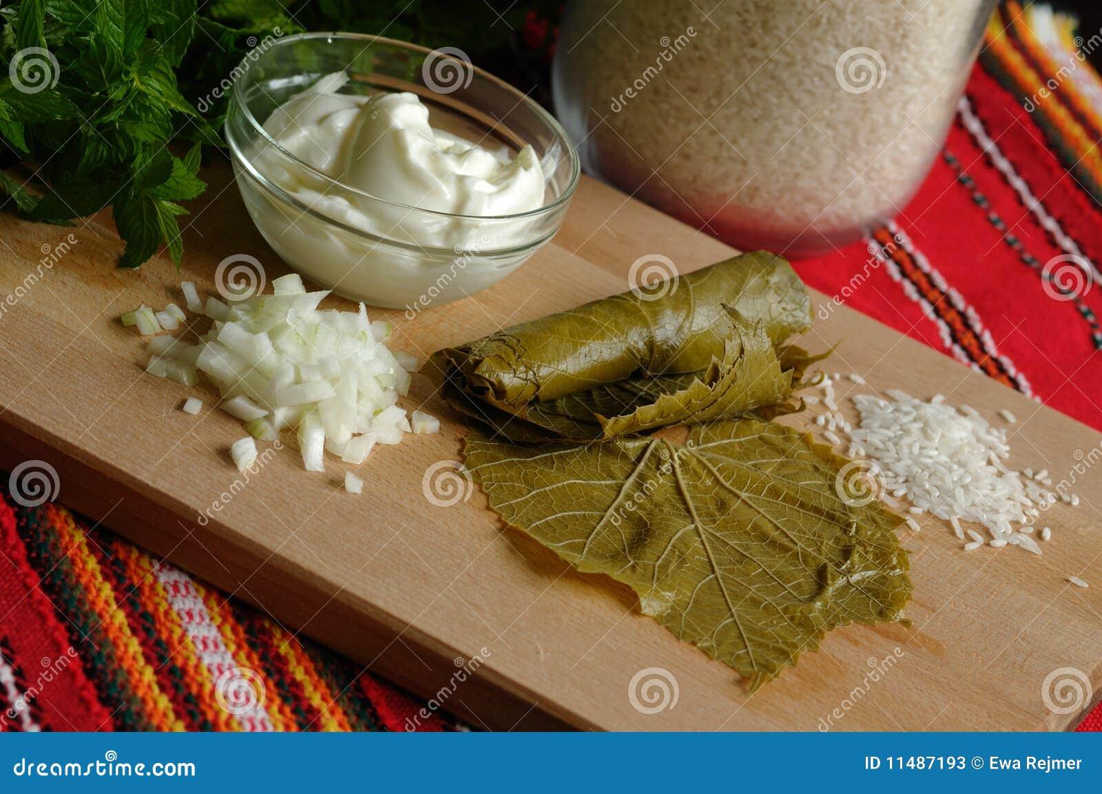 Products for sarma (dolmadakia)