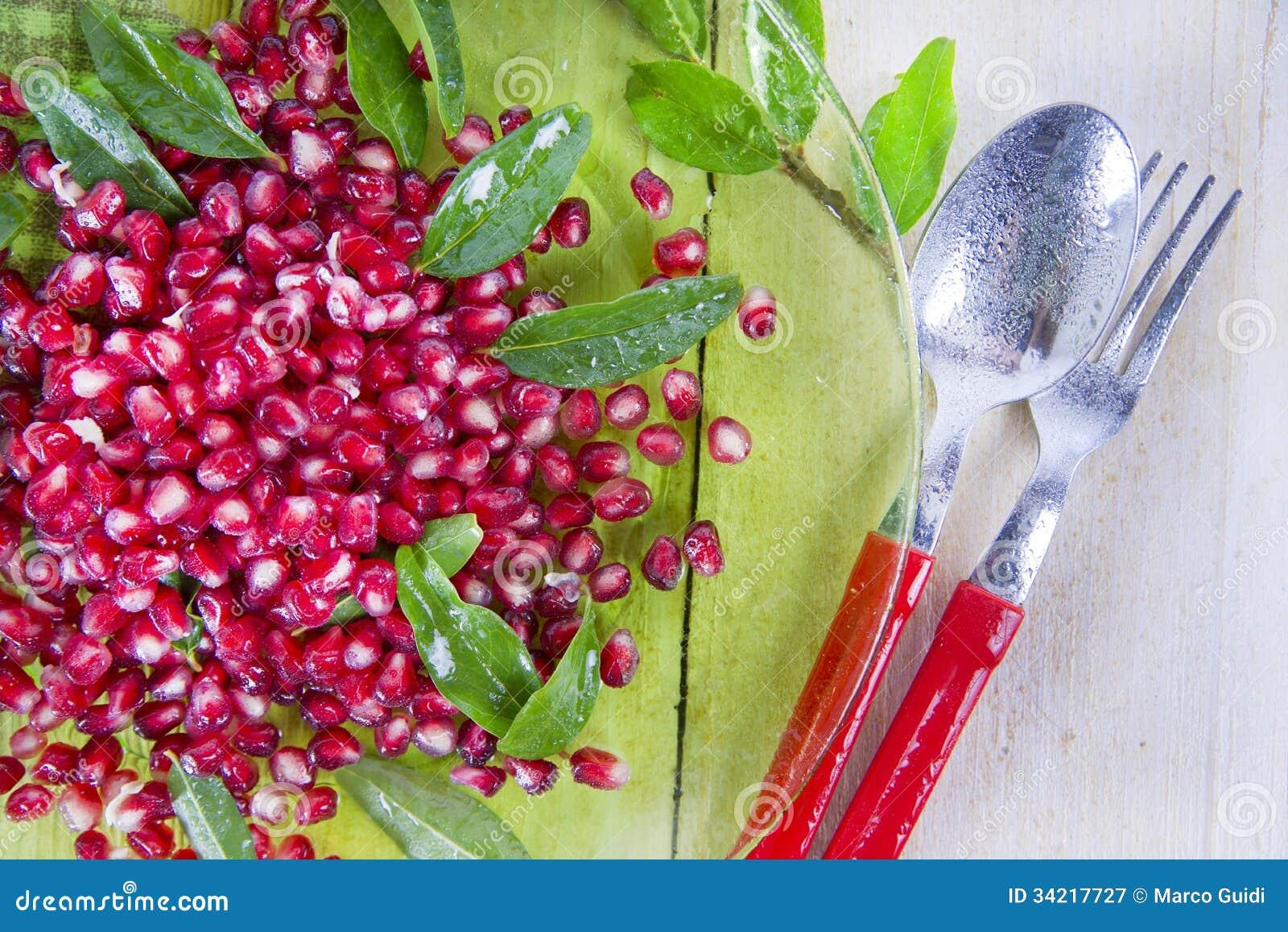 Produit d Autumn Season Pomegranate