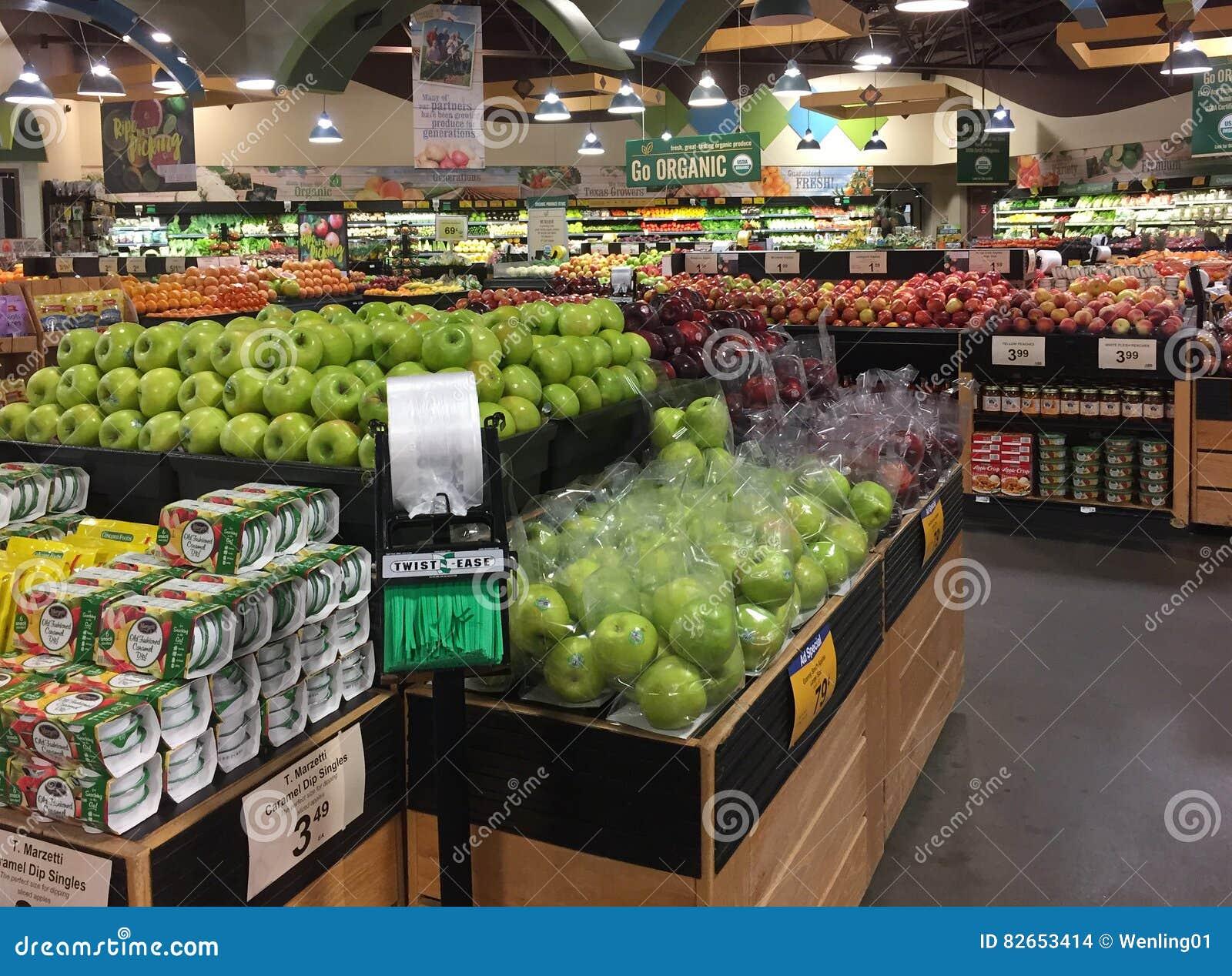 Produit organique à vendre à l épicerie TX