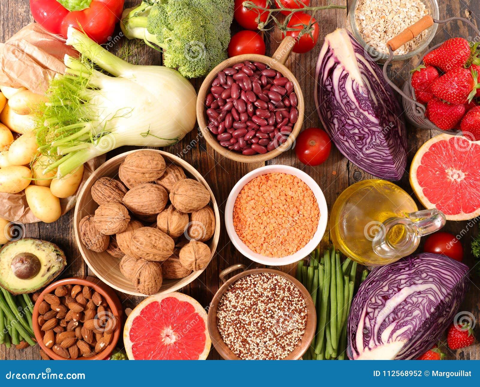Produits biologiques sains