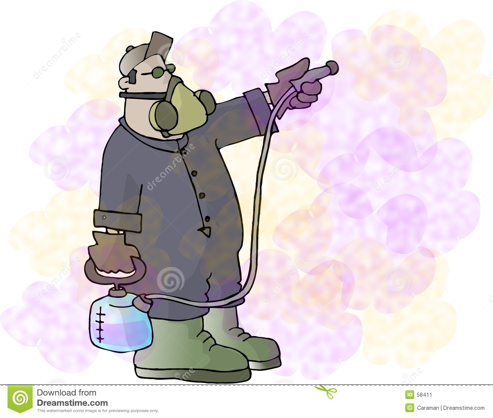 Produits chimiques de pulvérisation
