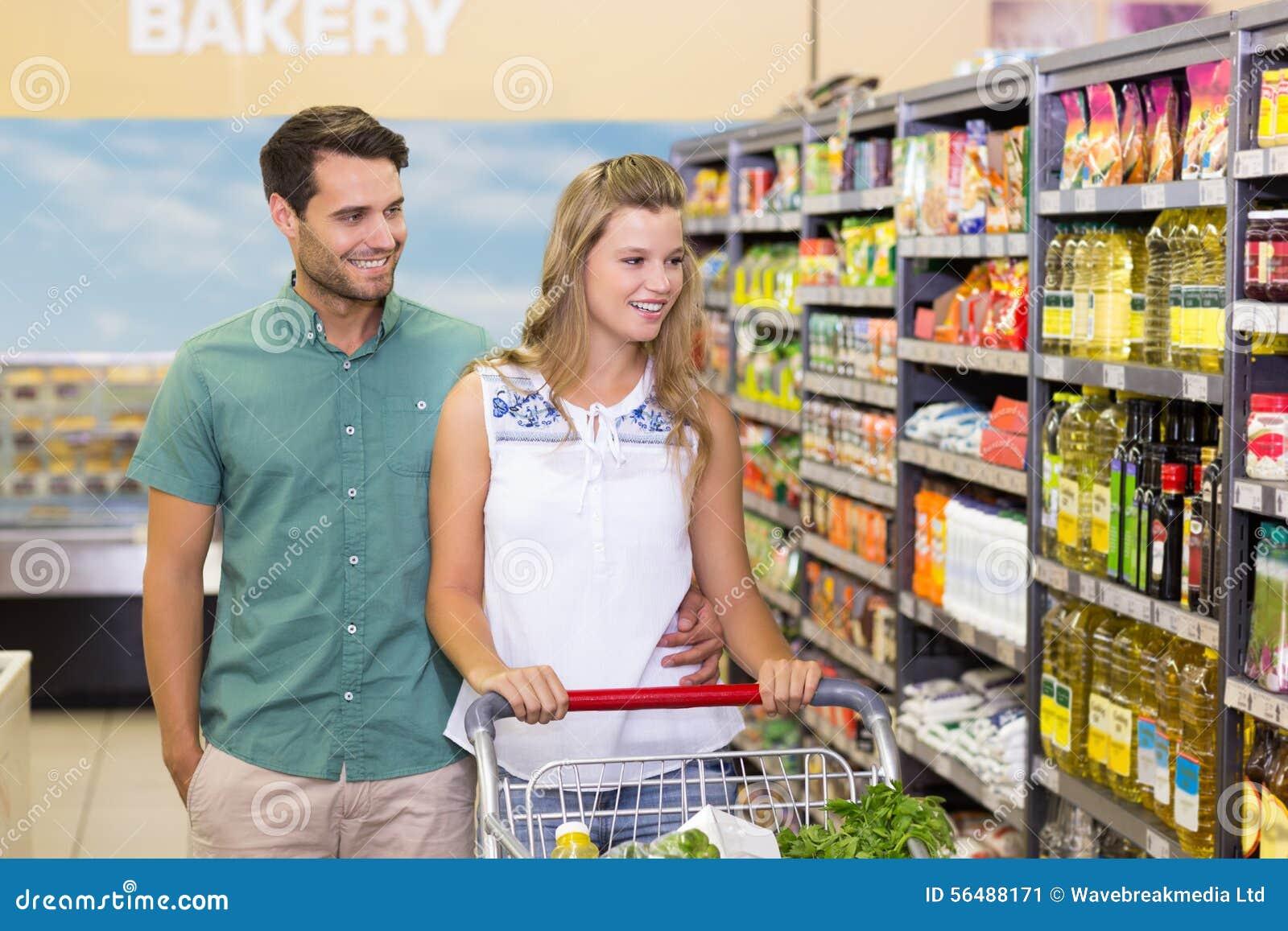 Produits de achat de couples lumineux dans le bas-côté