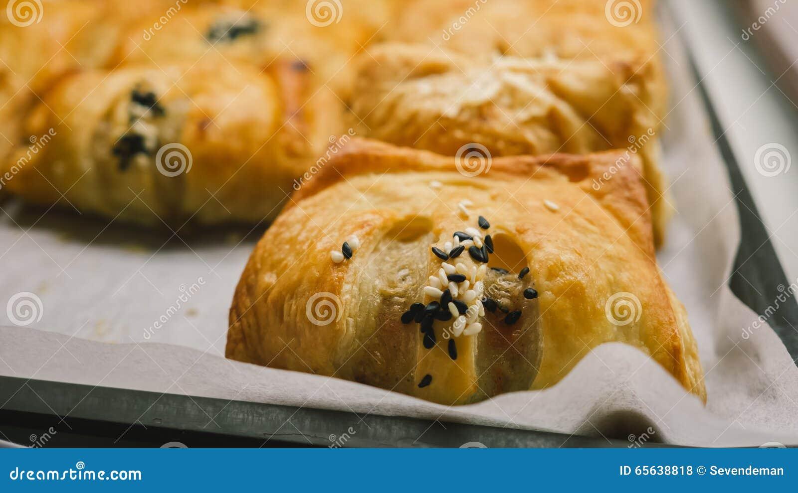 Produits de boulangerie dans la boutique