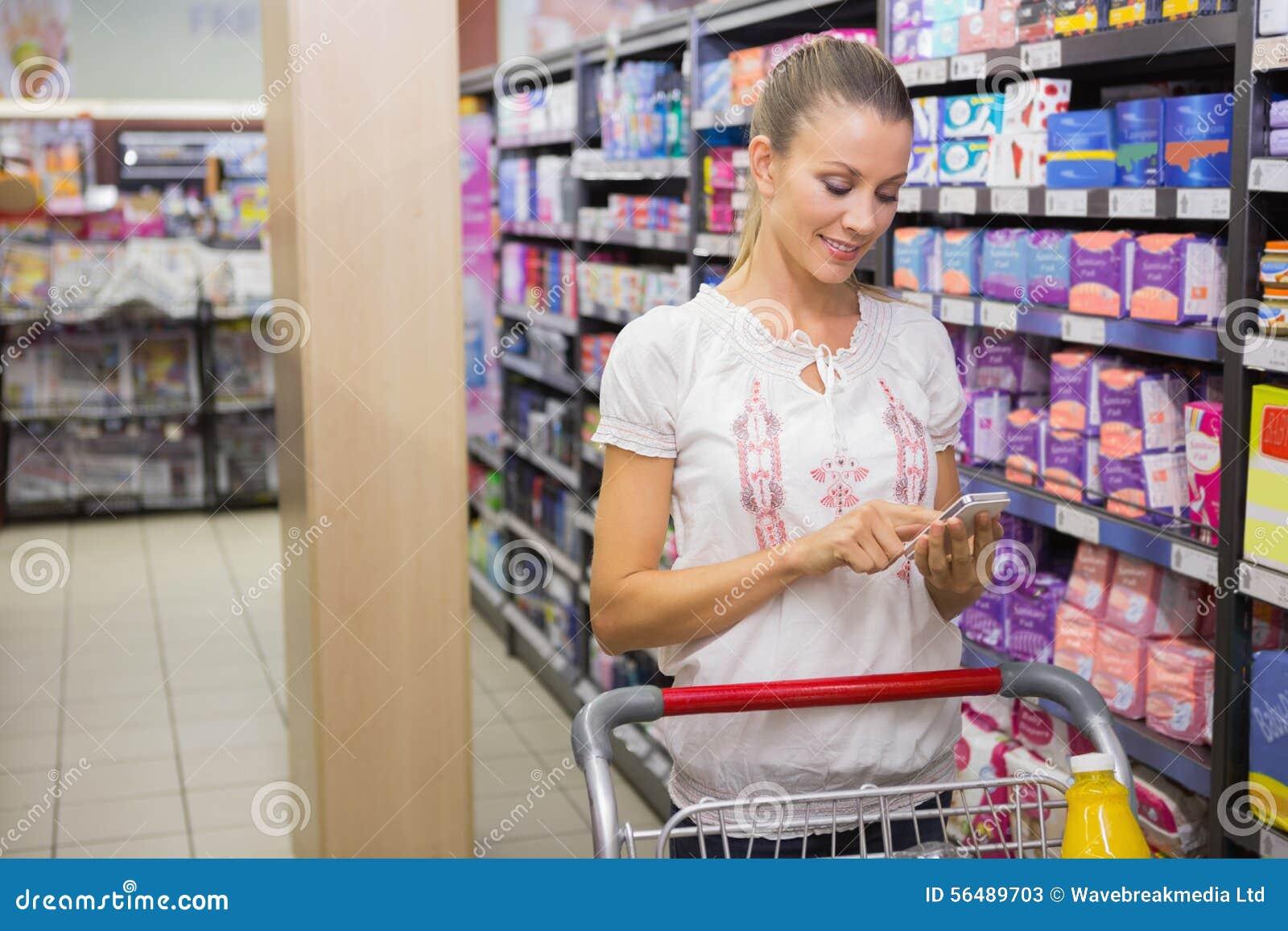 Produits et service de mini-messages d achat de femme