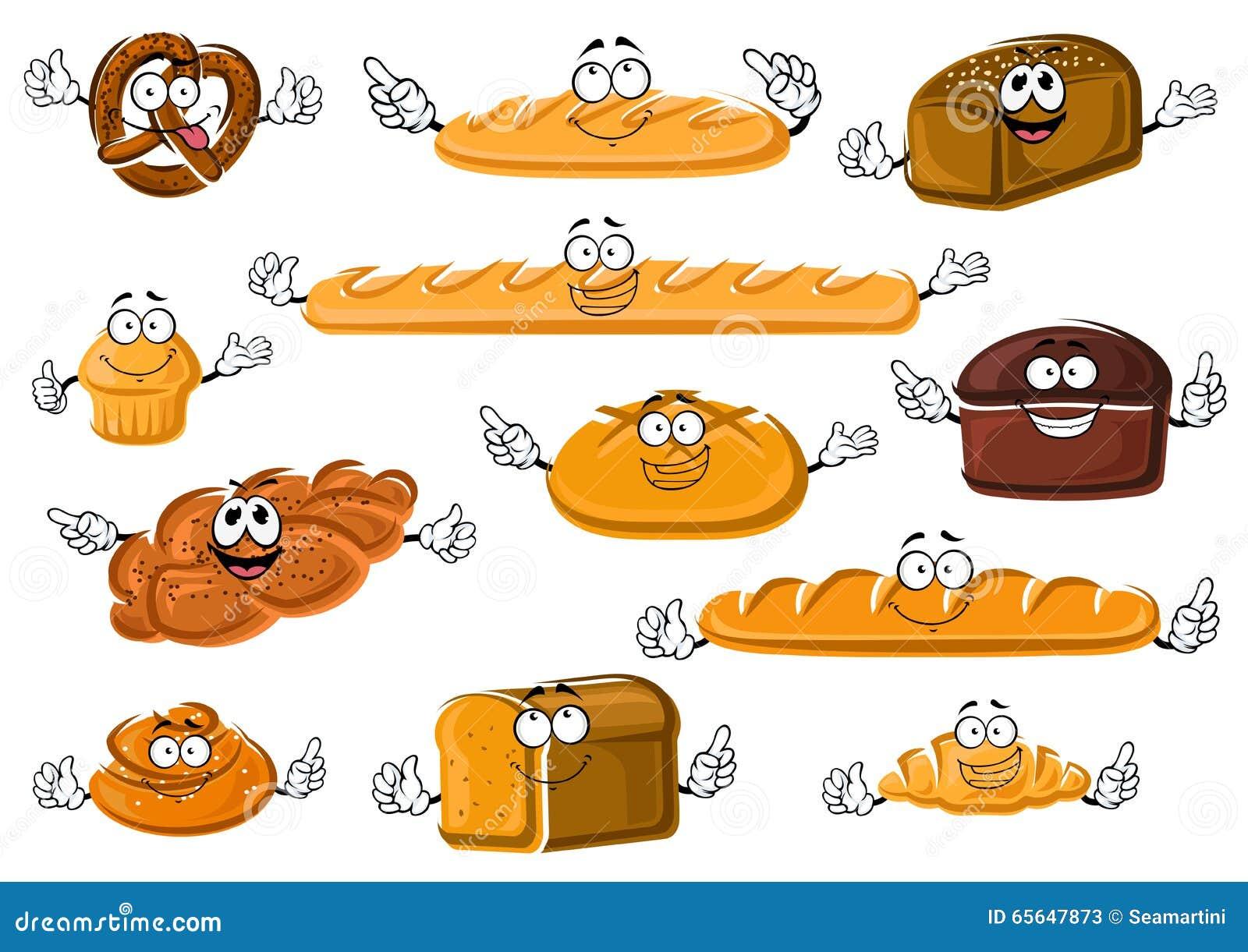 Produits frais sains de boulangerie et de pâtisserie