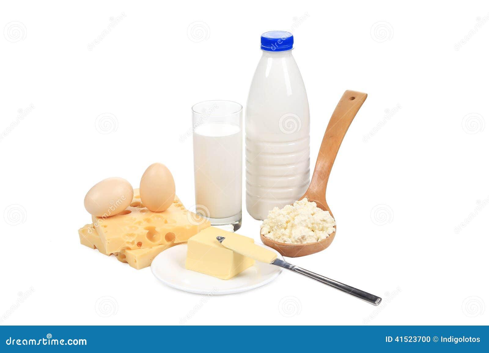 Produits laitiers sains