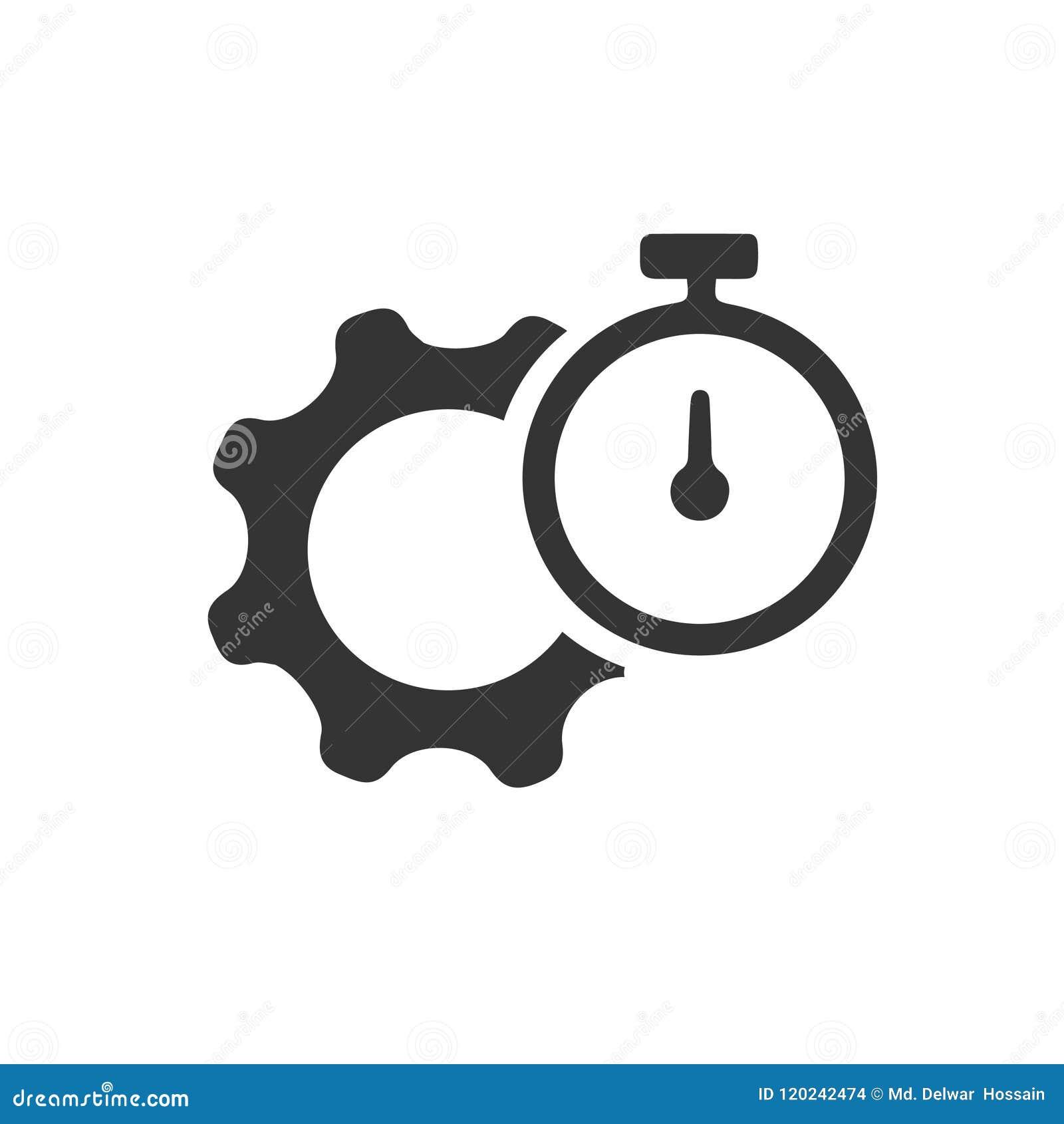 Produtividade, ícone do desempenho