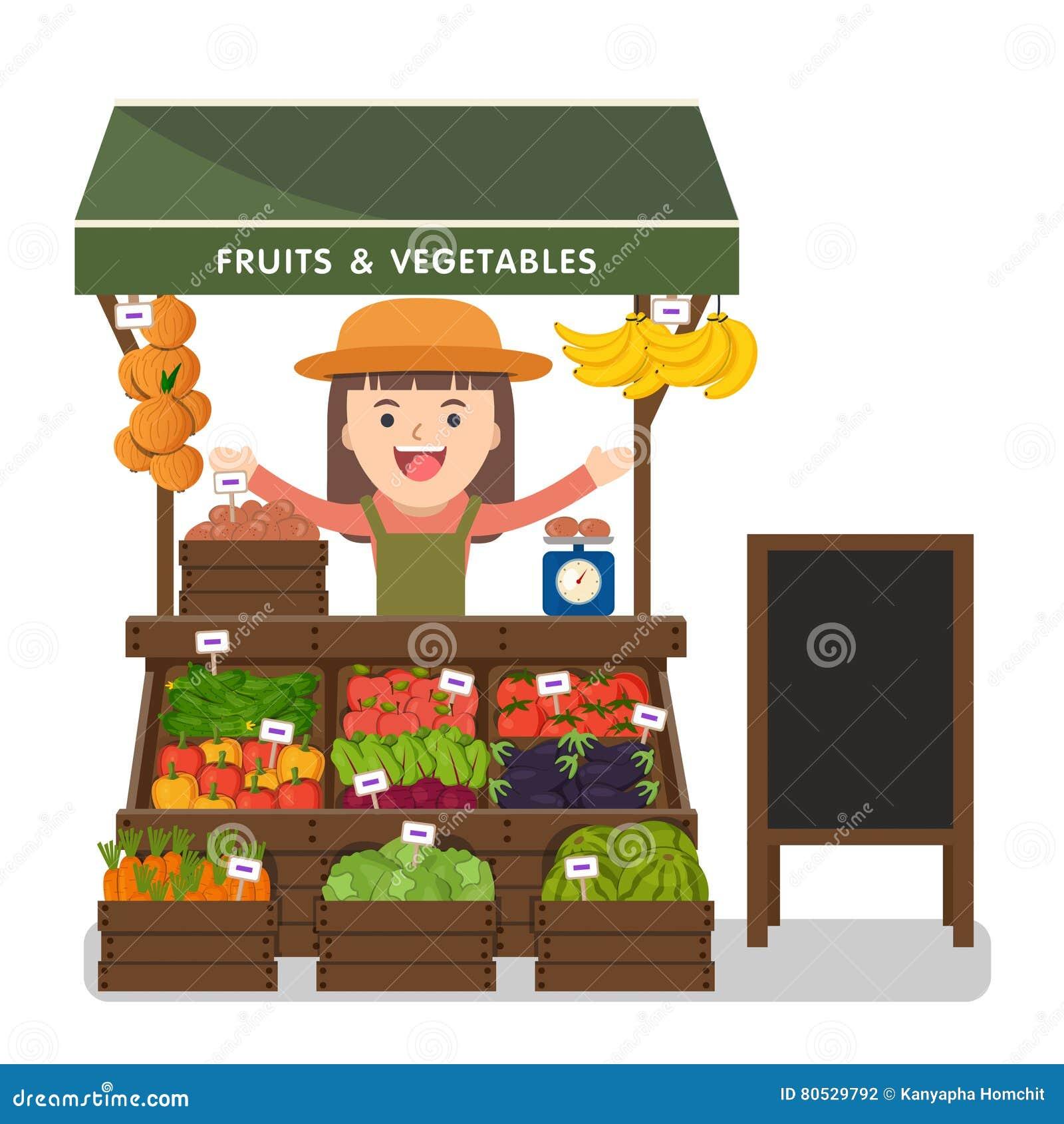 Produto local dos vegetais da venda de fazendeiro do mercado