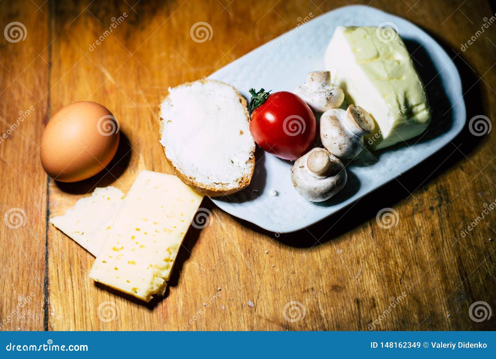 Produtos úteis do café da manhã