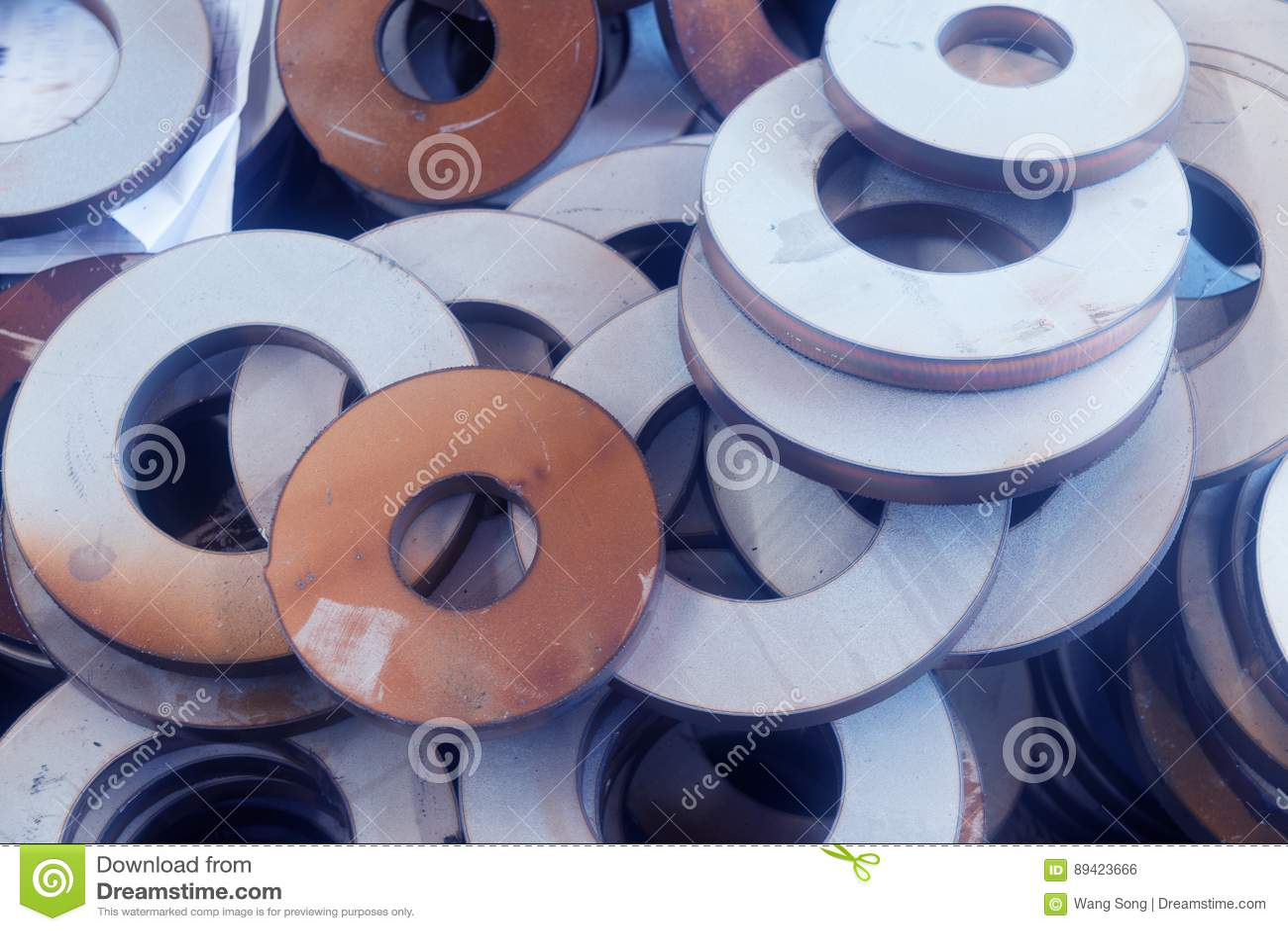Produtos semiacabados do metal