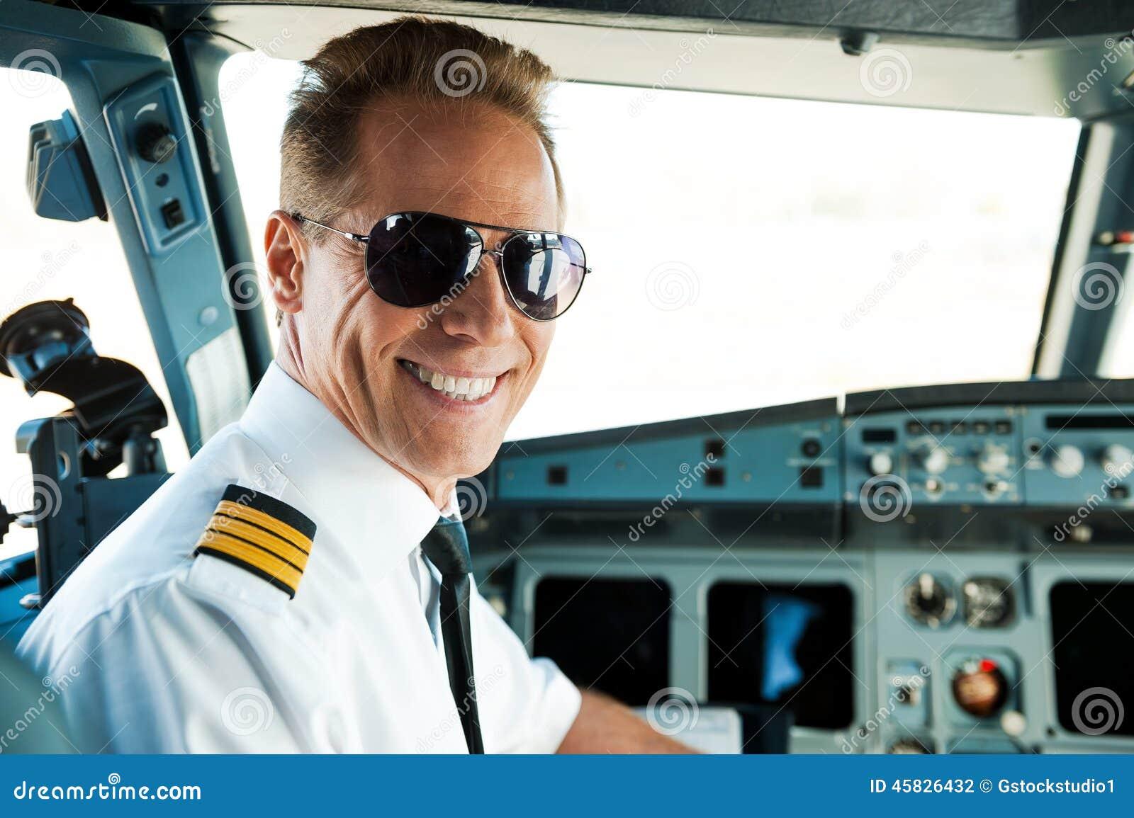 Proef in cockpit