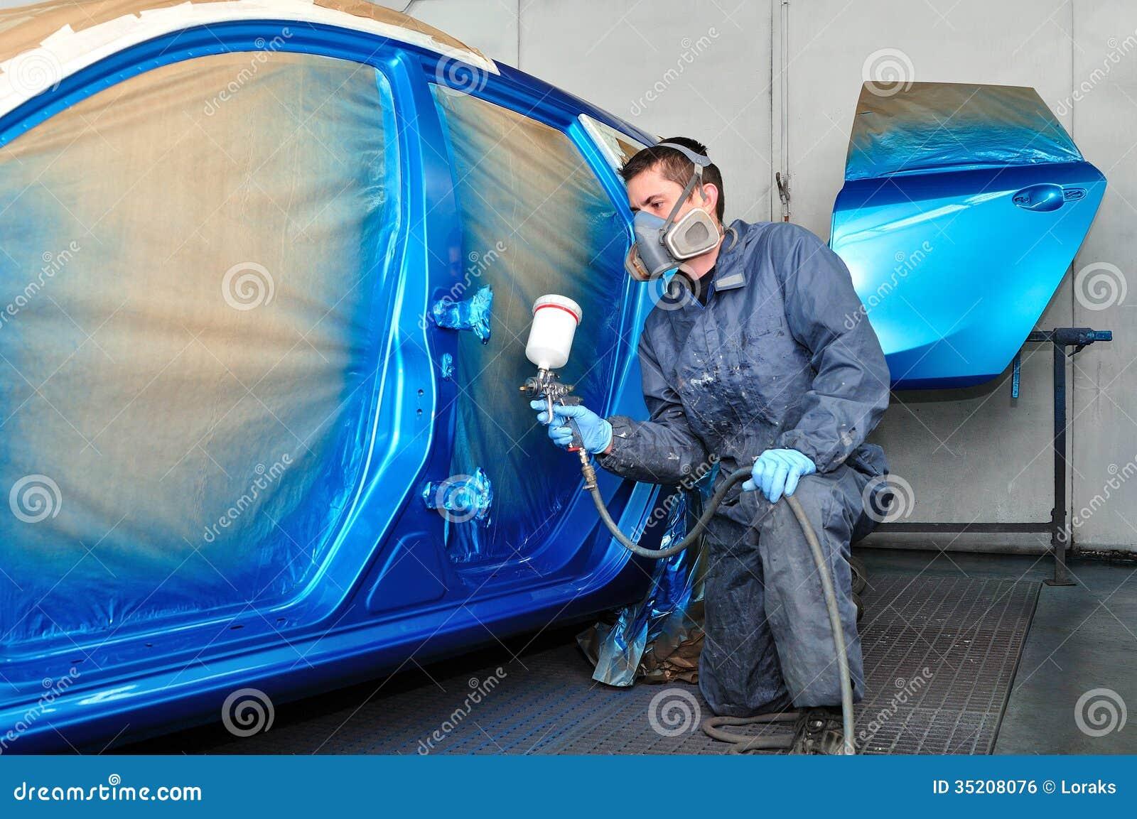 Spray Paint Can Car Paint Job