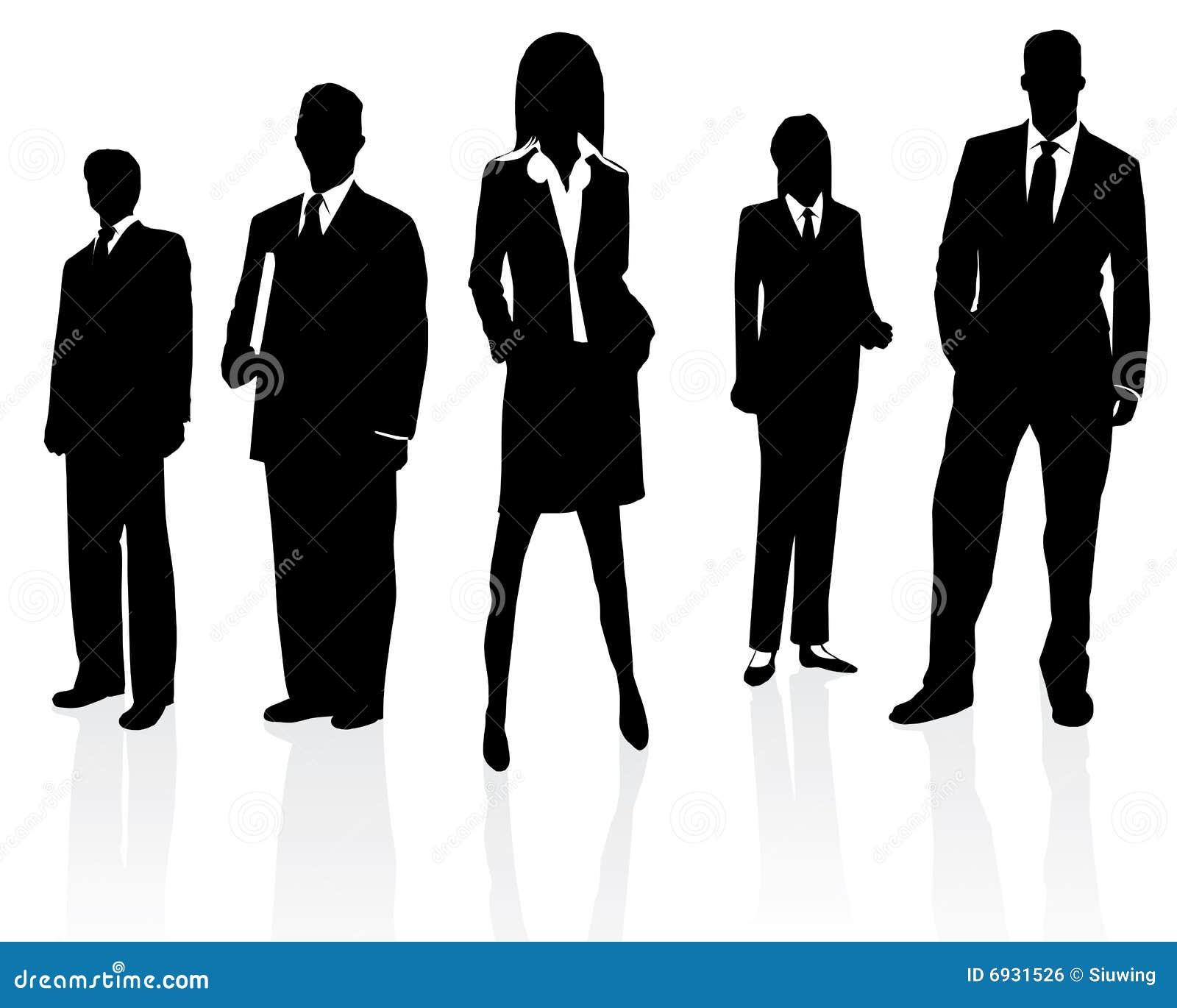 Profesjonalista biznesowa drużyna