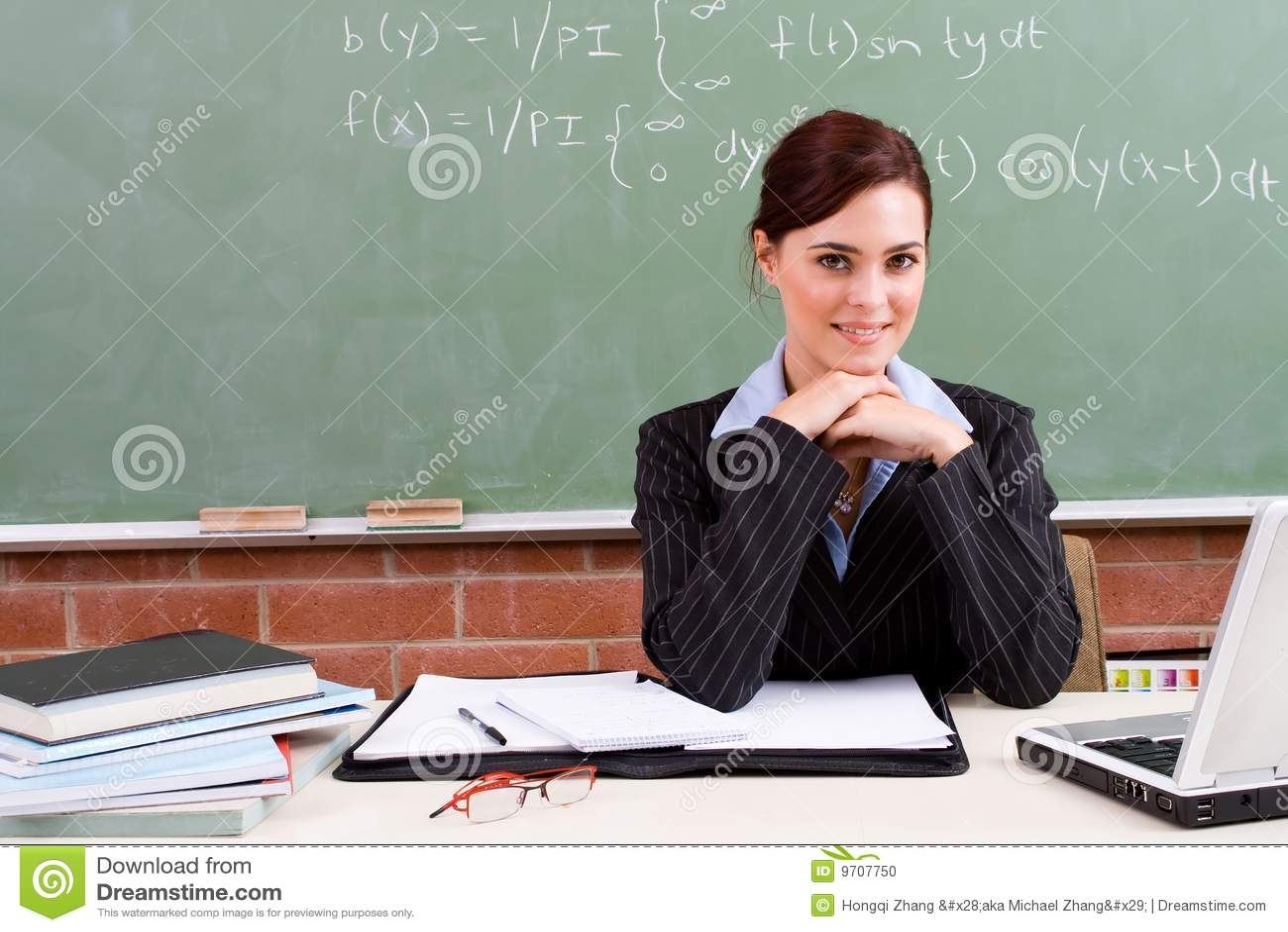 Profesor de sexo femenino