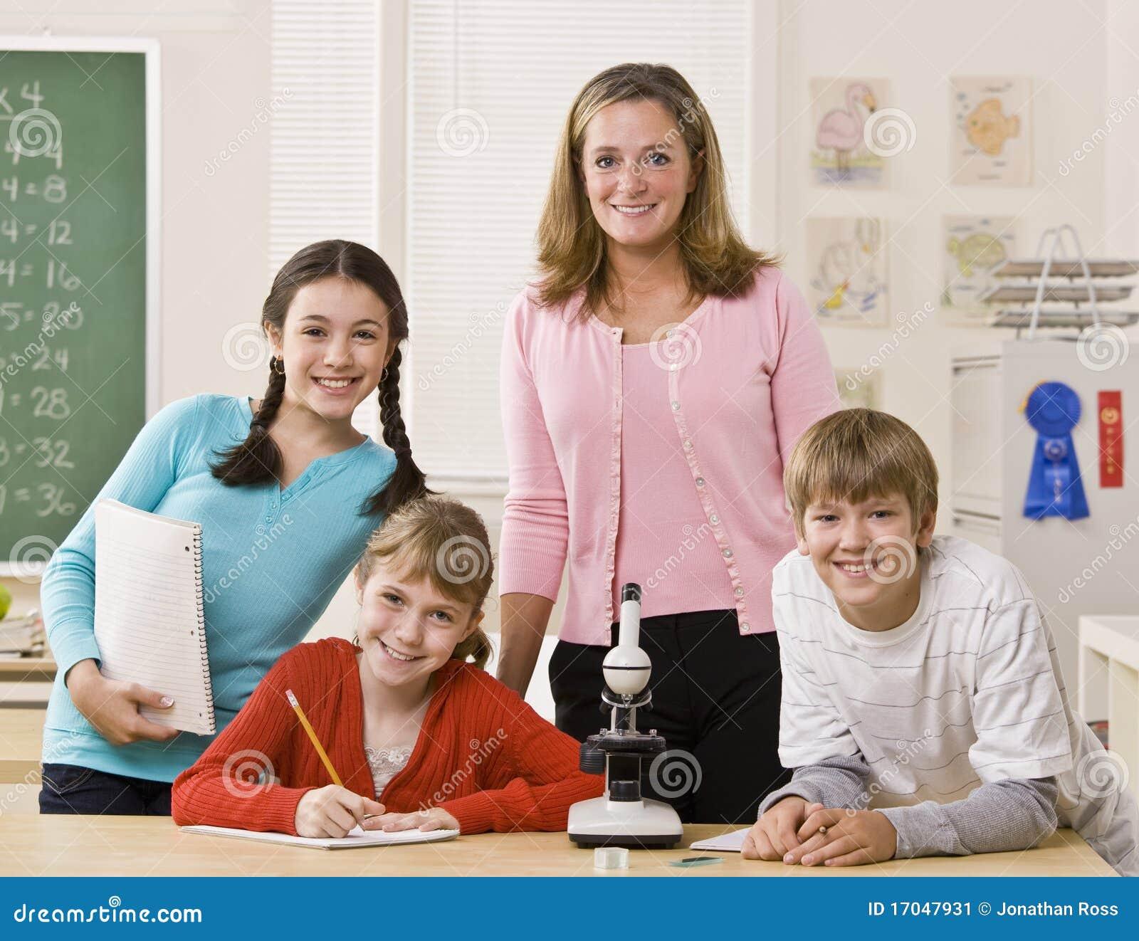 Profesora y estudiante - Servipornocom