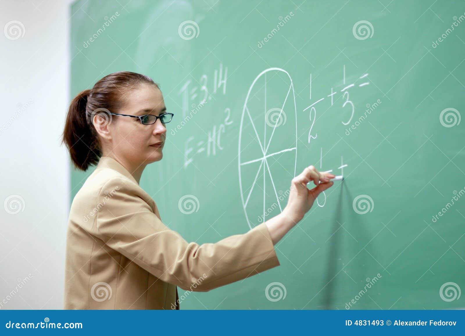 Profesor joven