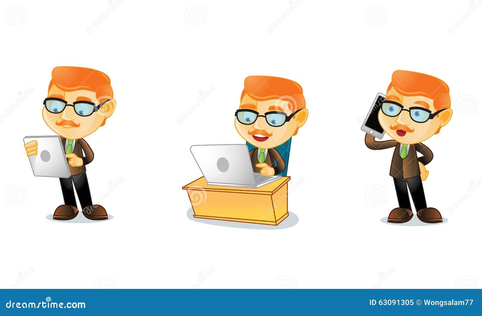 Download Professeur 3 illustration de vecteur. Illustration du classe - 63091305