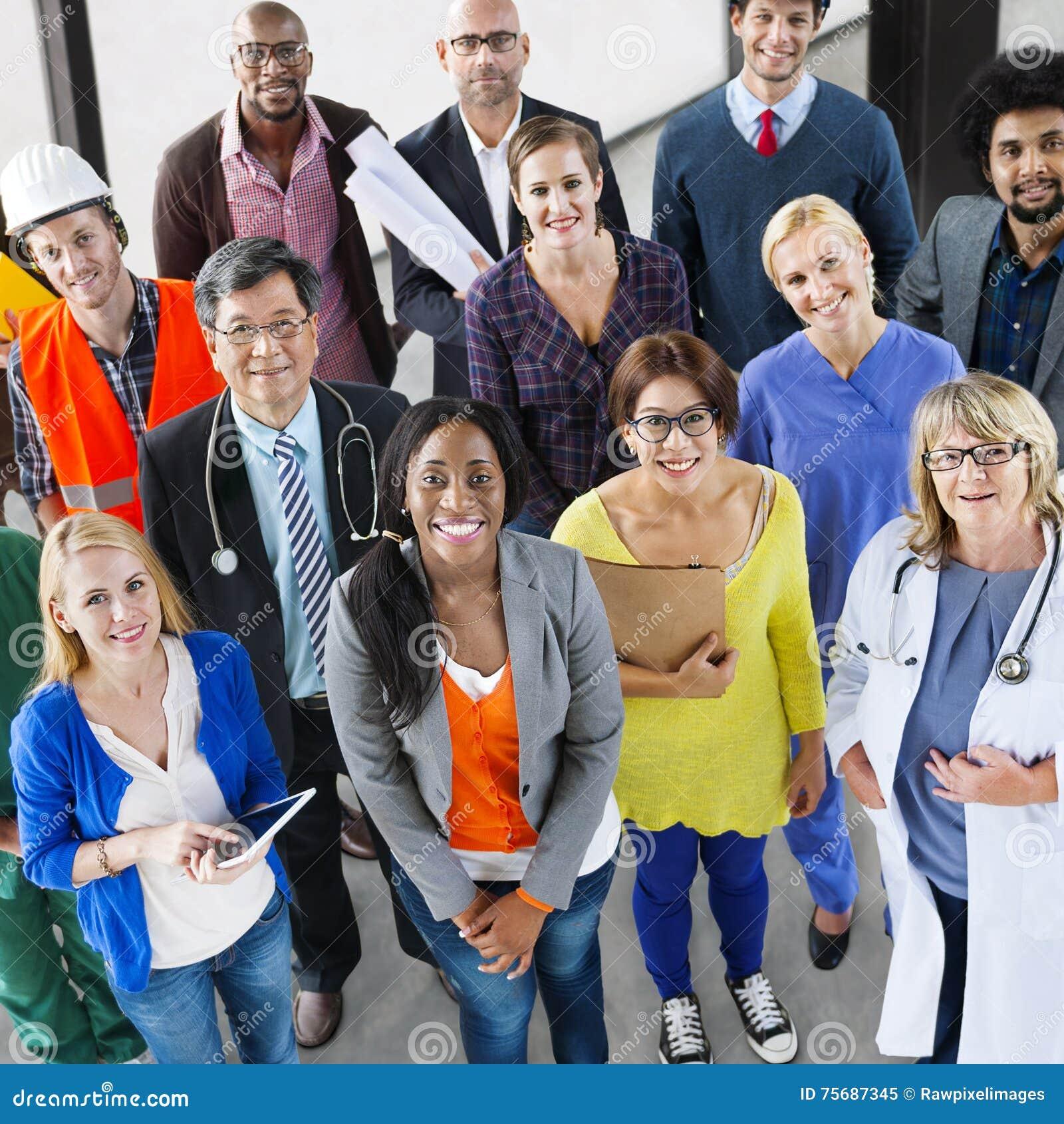Profession Job Team Corporate Concept de carrière de personnes