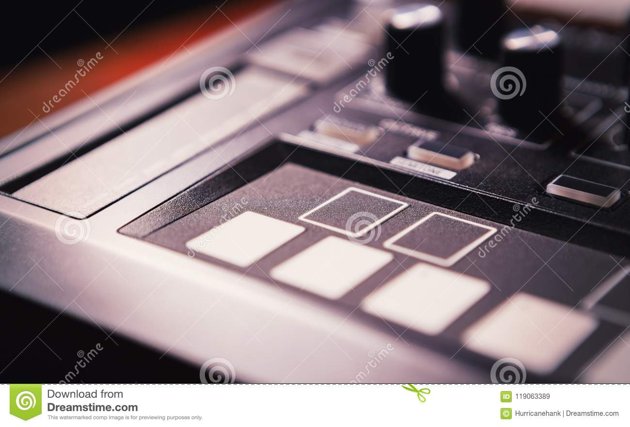 Professional beat machine device for music composer