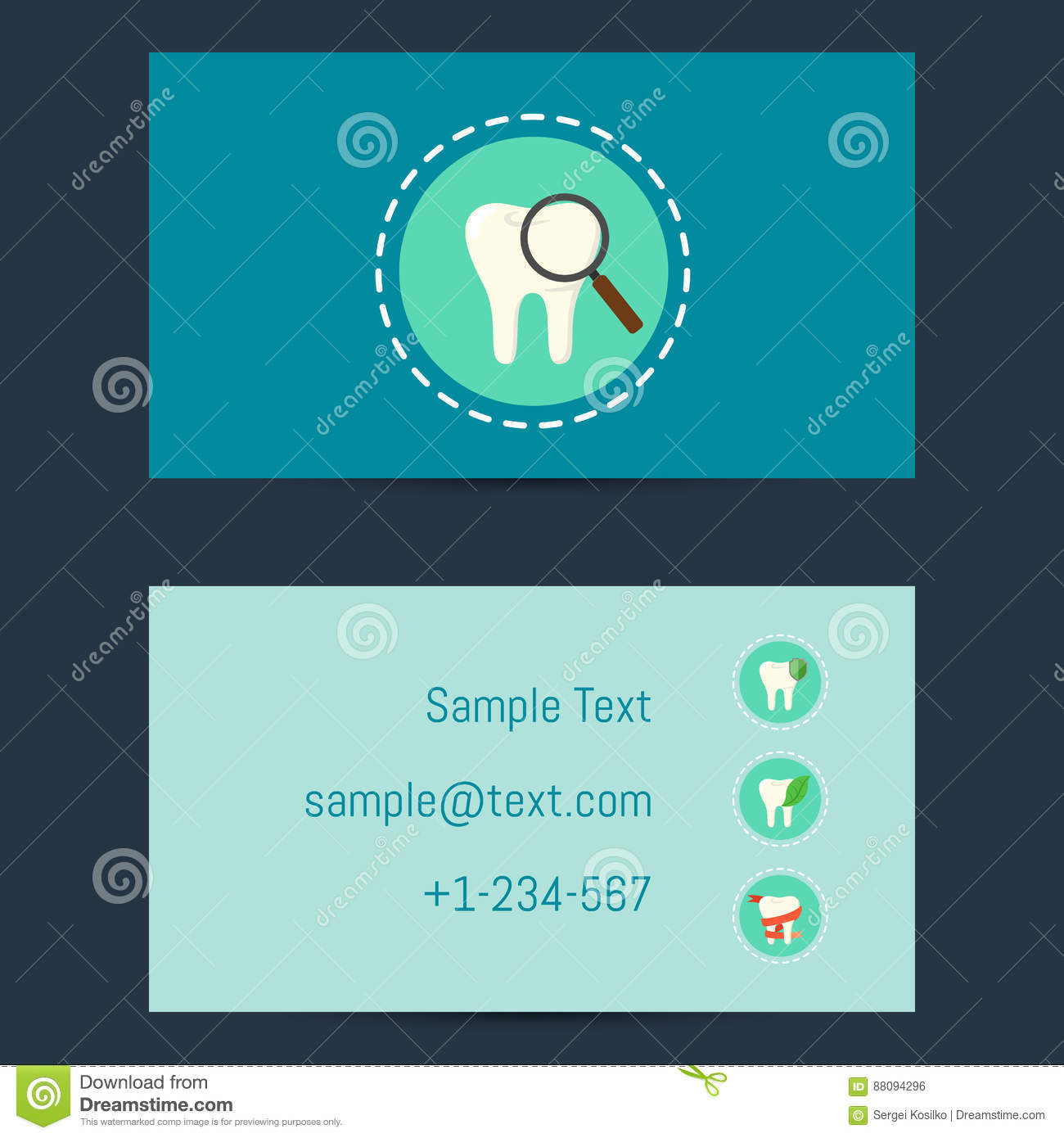 Professional business card for dentists stock vector illustration download professional business card for dentists stock vector illustration of instrument equipment 88094296 download comp reheart Gallery