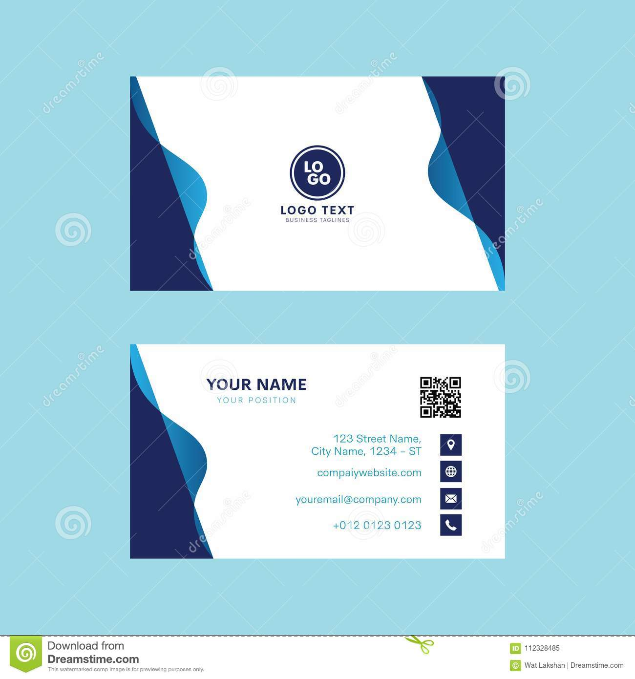 Professional business card vector design invitation card template royalty free stock photo download professional business card vector design invitation card template modern design stopboris Gallery