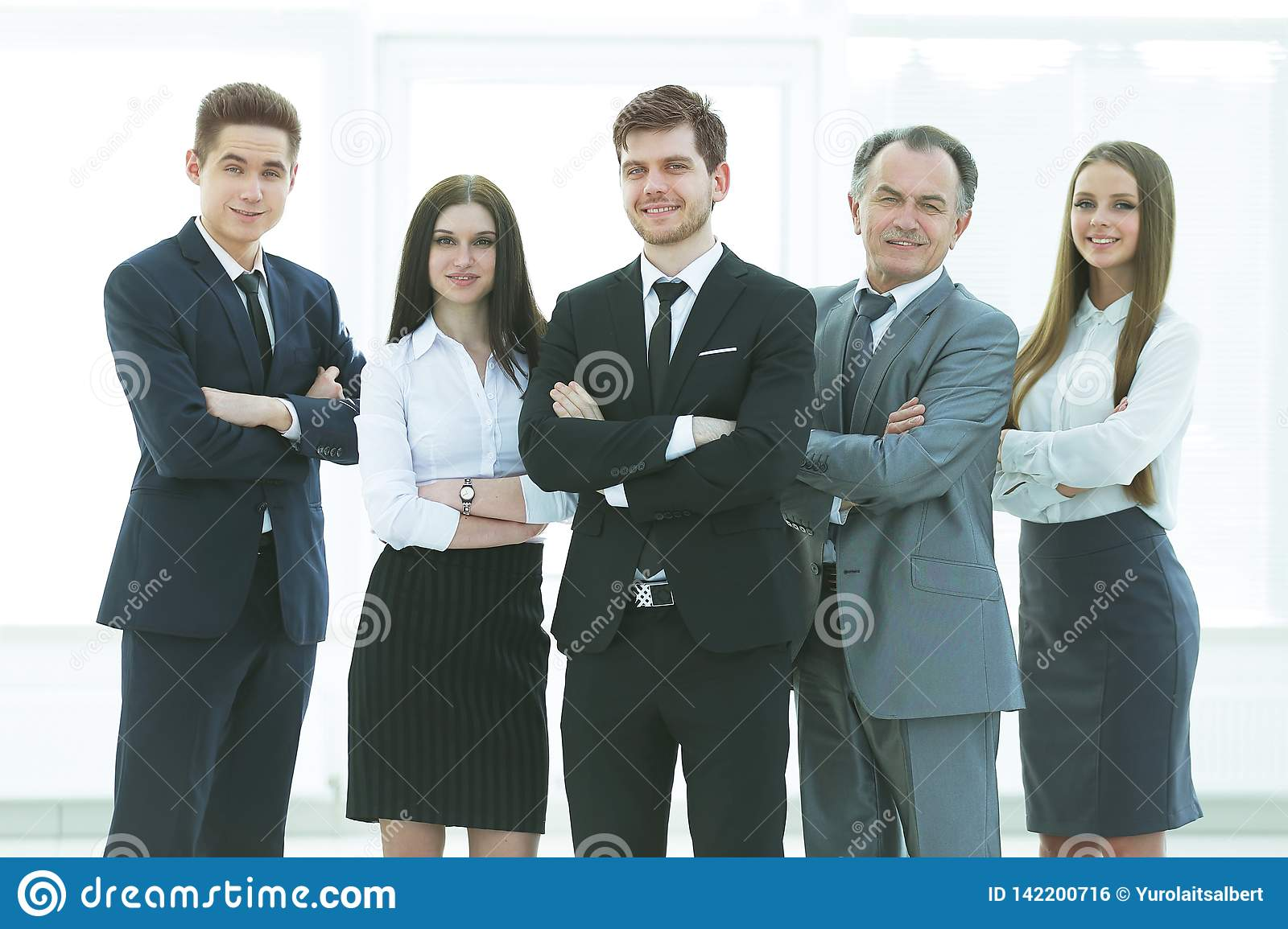 Professional business team.photo in full growth. photo with place for text