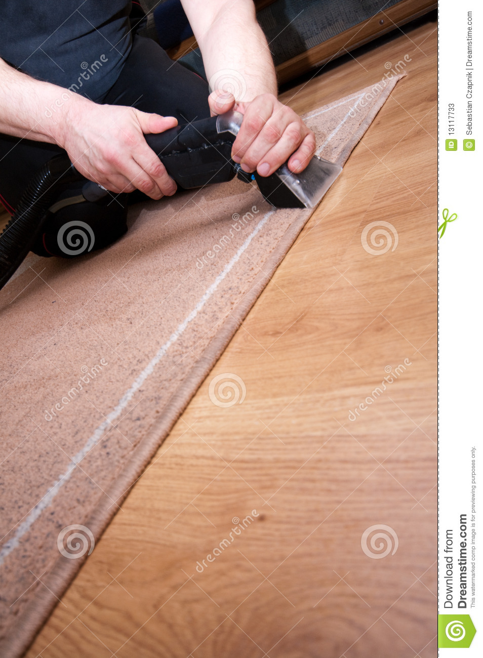 Professional Carpet Cleaning Stock Photos Image 13117733