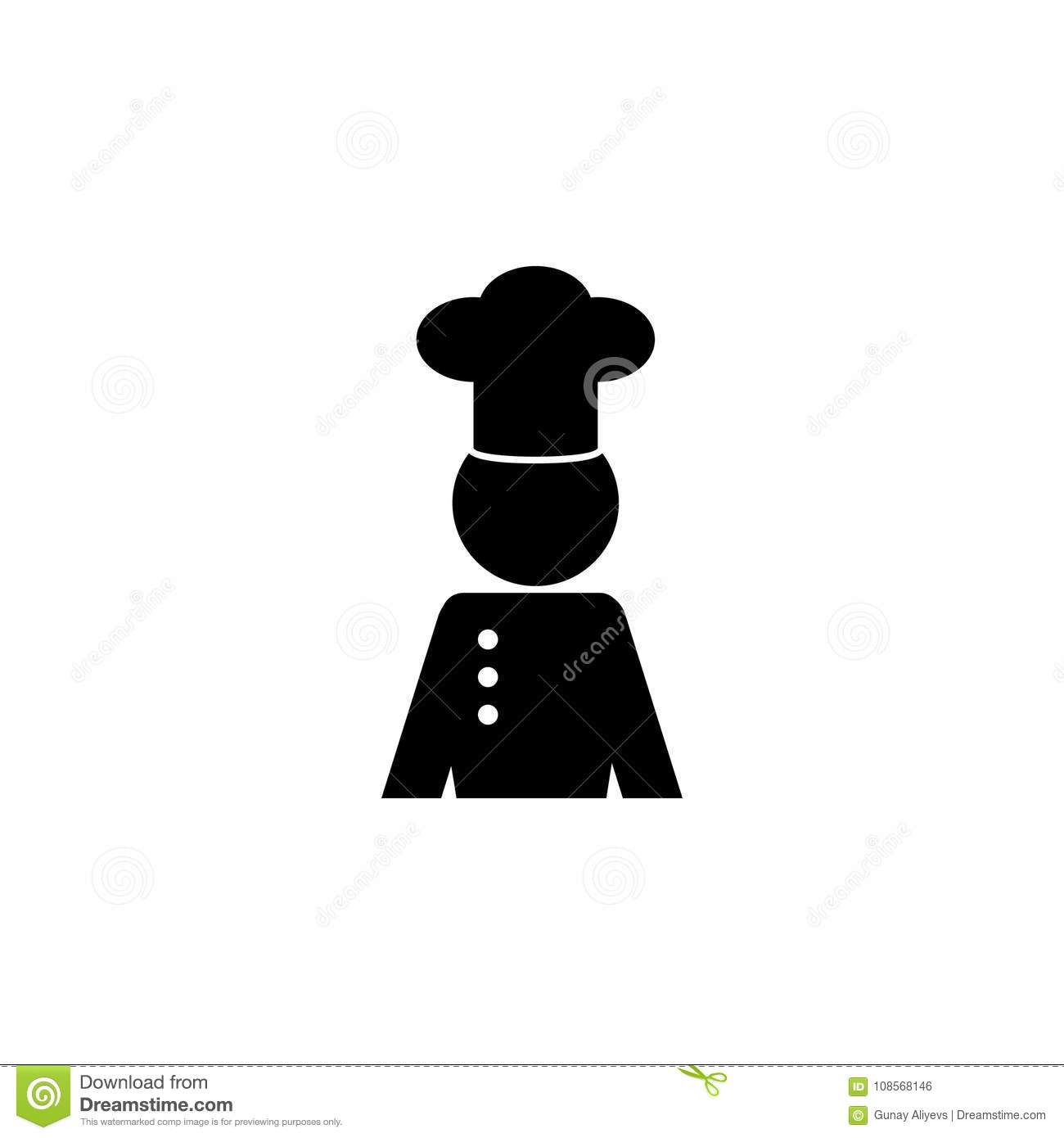 Professional chef avatar character icon chef kitchen element chef kitchen element icon premium quality graphic design signs outline symbols collection icon for websites web design mobile app info graphics on buycottarizona Choice Image