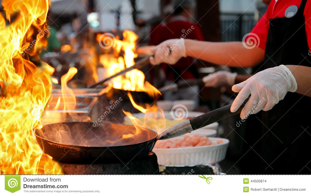 Cooking Gas Clipart Gallery Biogas Diagram Stock Images Image 36146824 Professional Chef In A Commercial Kitchen Flambe