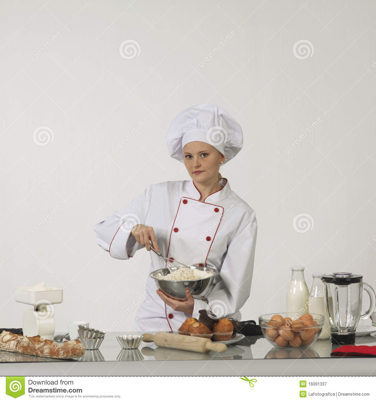 professional cook stock image image of kitchen occupation 16091337
