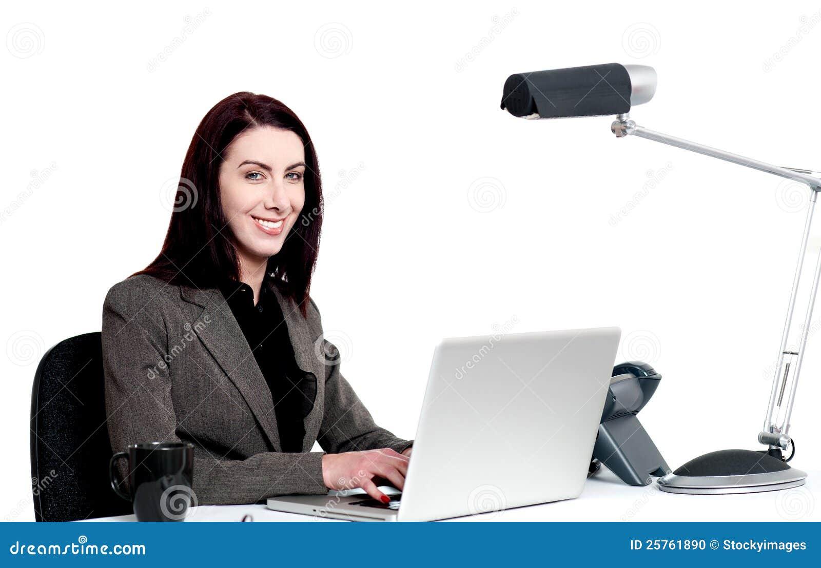 professional corporate lady at work indoor shot stock photo professional corporate lady at work indoor shot