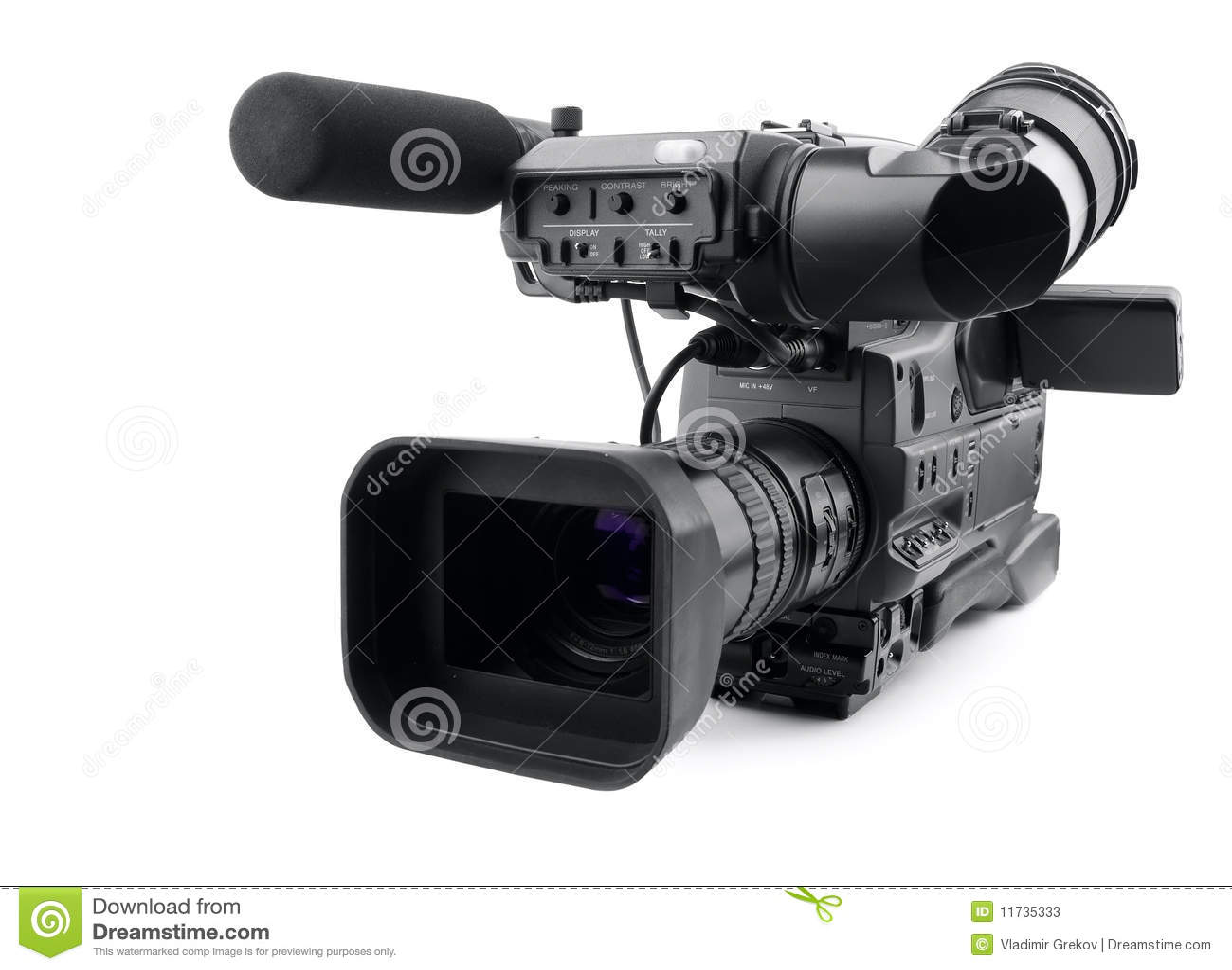 Professional Digital Camera Royalty-Free Stock Photography ...