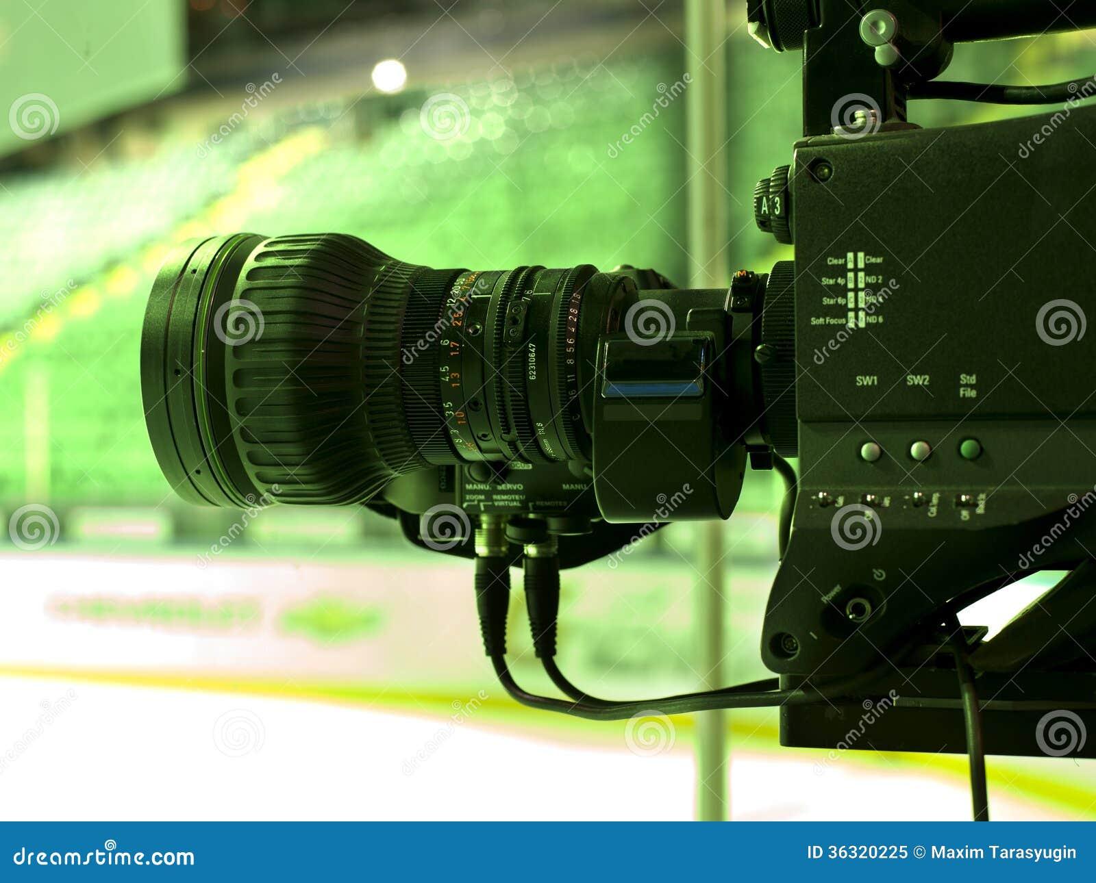 Professional Digital Video Camera Royalty Free Stock Photo ...