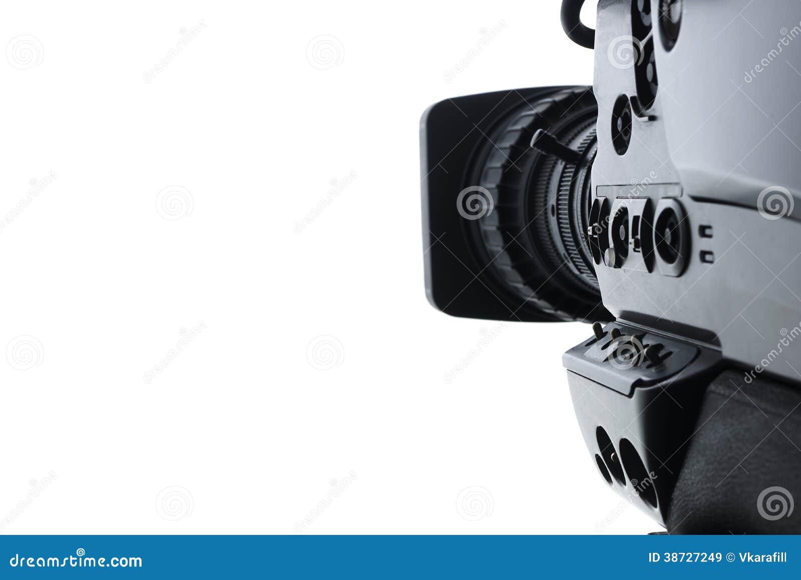 Professional Digital Video Camera Royalty Free Stock ...