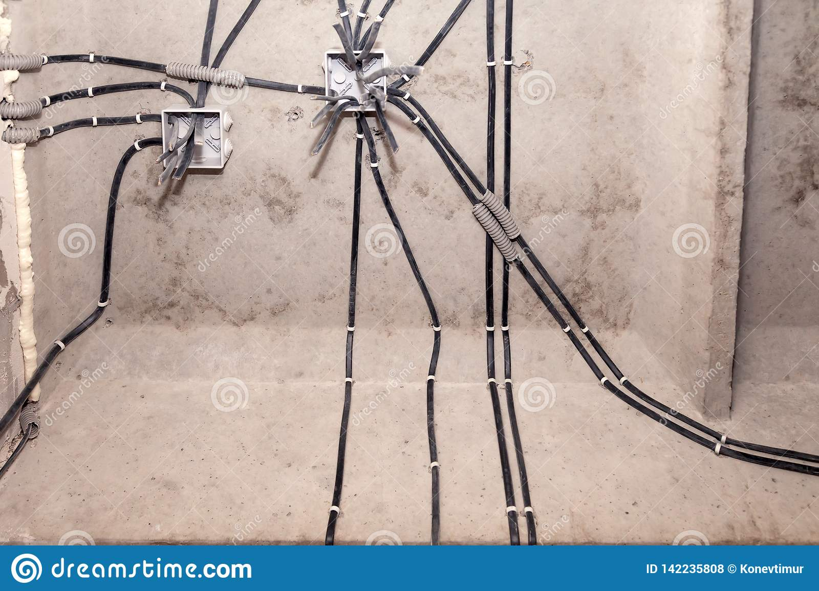 Professional Draft Electrical Wiring In House Or Apartment ... on