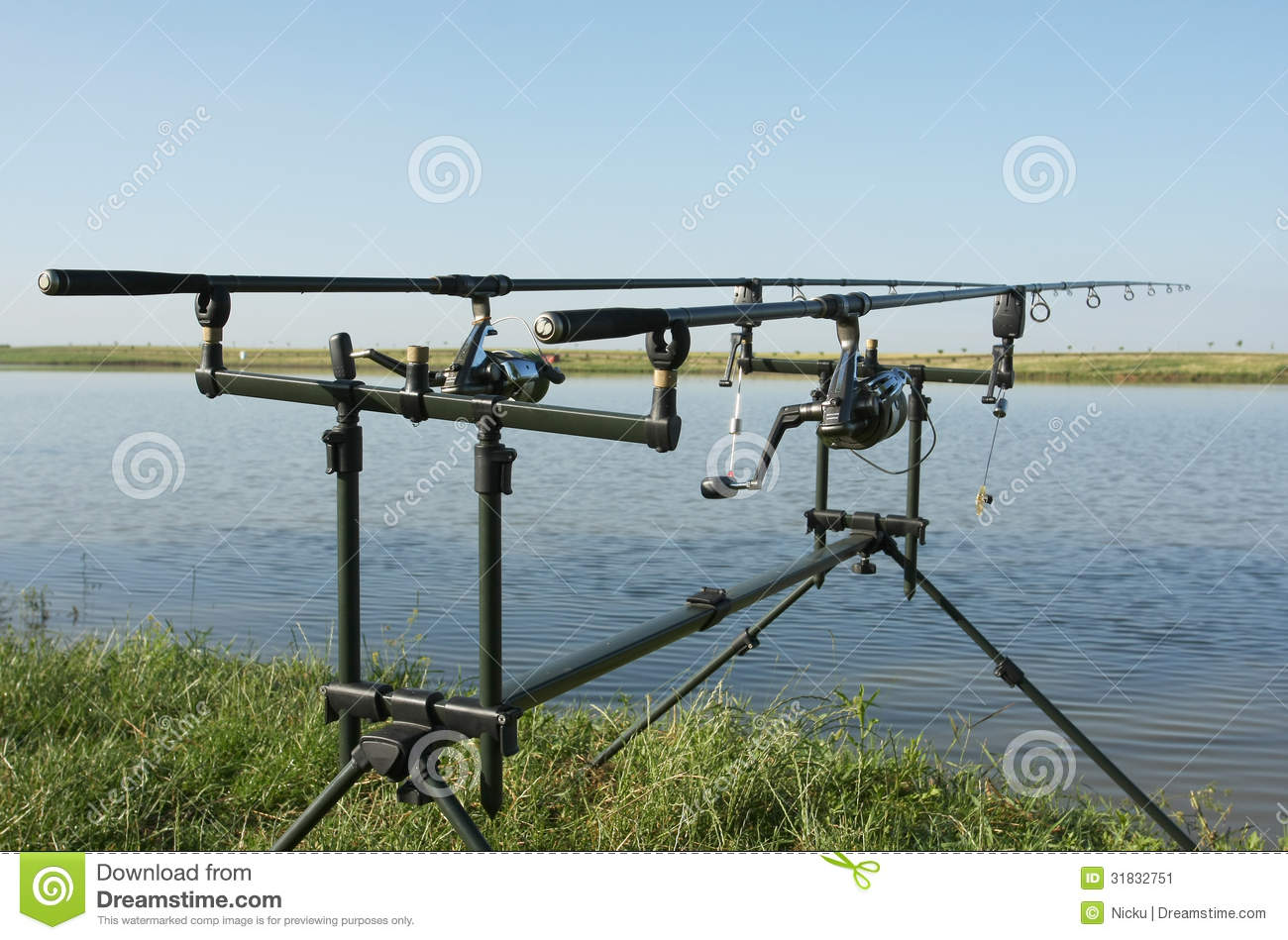 Professional fishing gear stock image image of fishing for Professional fishing gear