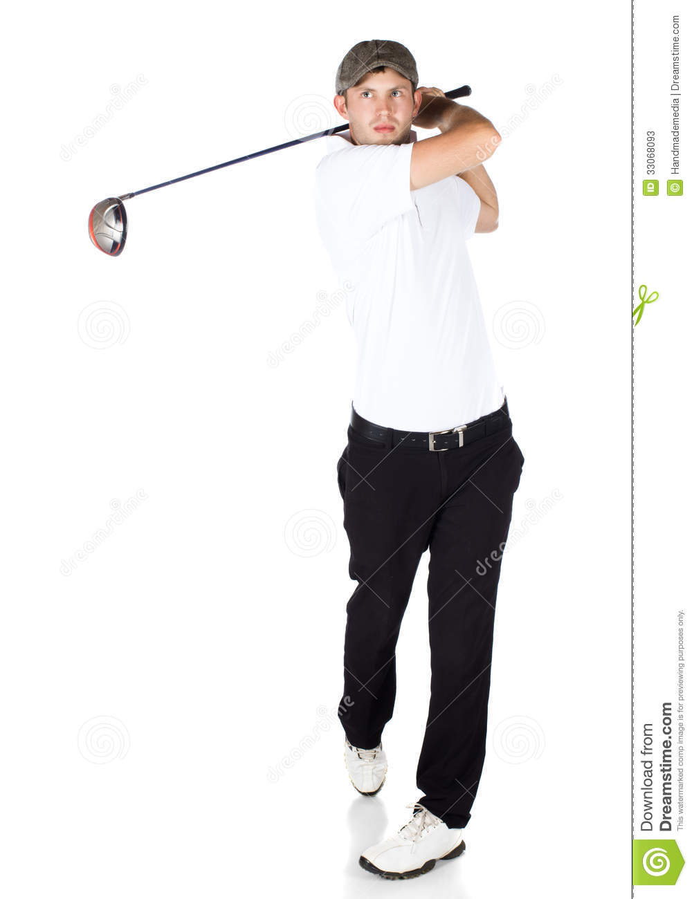 Professional Golf Player Stock Photos - Image: 33068093