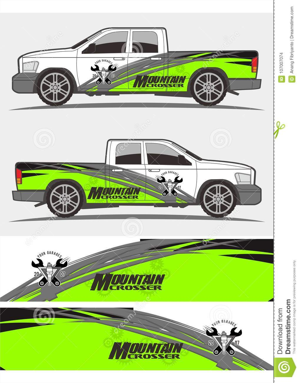 Professional graphics design decal kits for van vehicle and truck truck and vehicle decal graphics kits design tribal graphics kits for truck and other