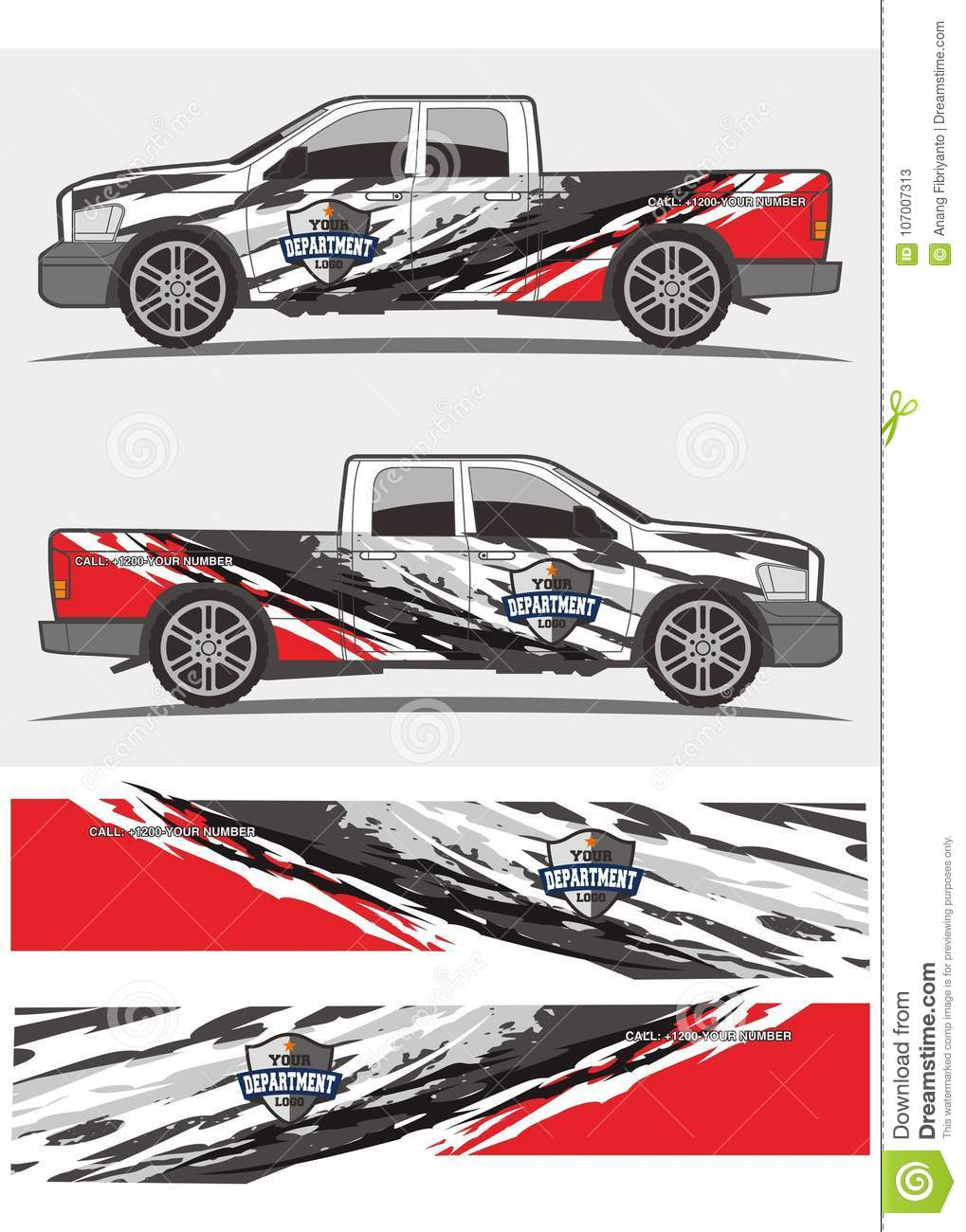 Professional graphics design decal kits for van vehicle and truckntruck and vehicle decal graphics kits design tribal graphics kits for truck and other