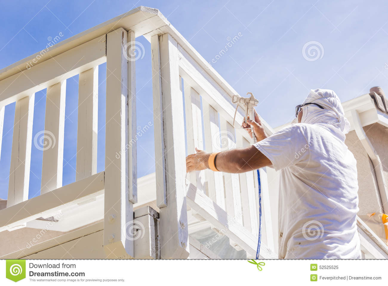 house painter royalty free stock photo cartoondealer