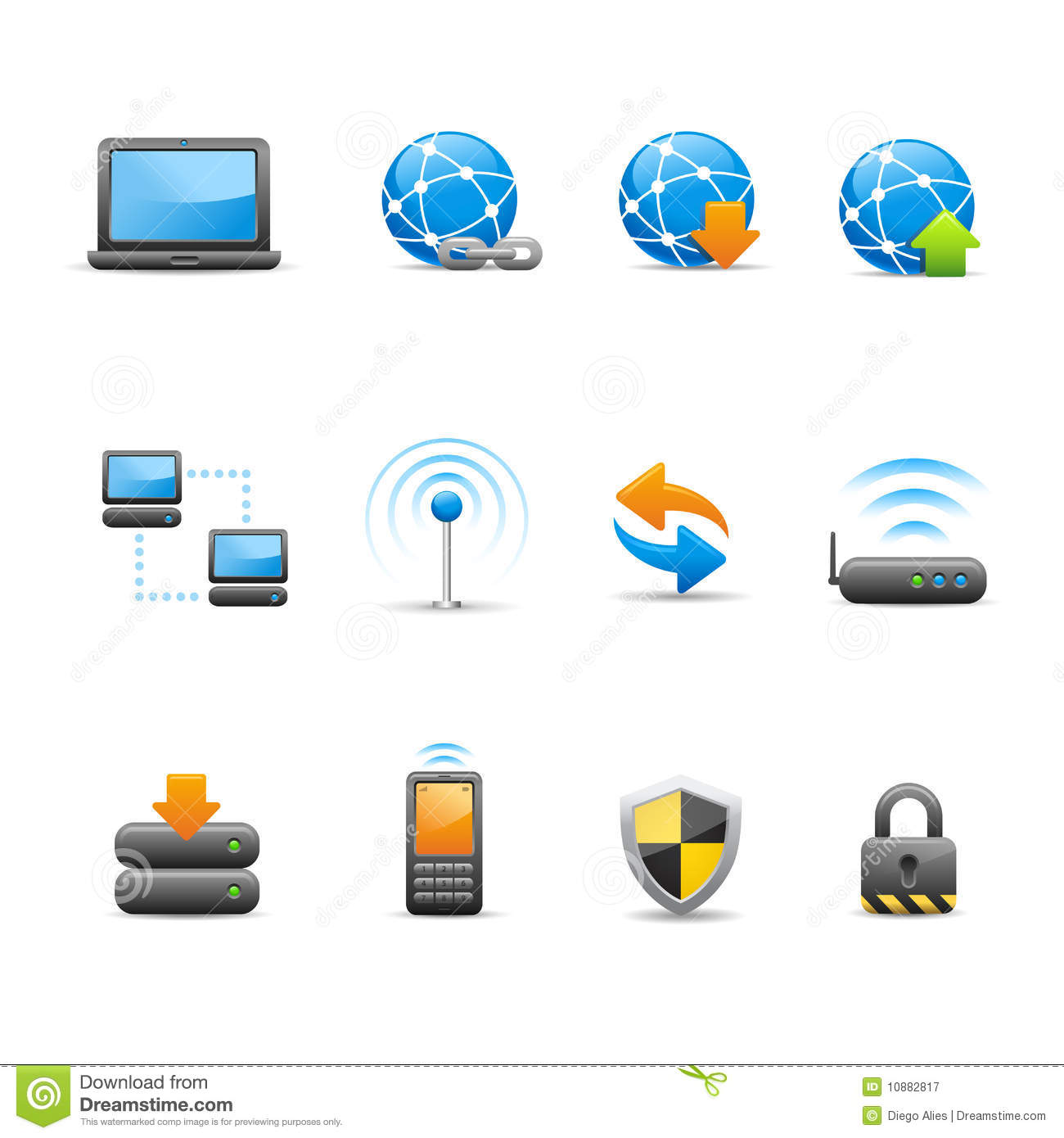 Professional Icon Set / 1 - Connectivity Royalty Free ...