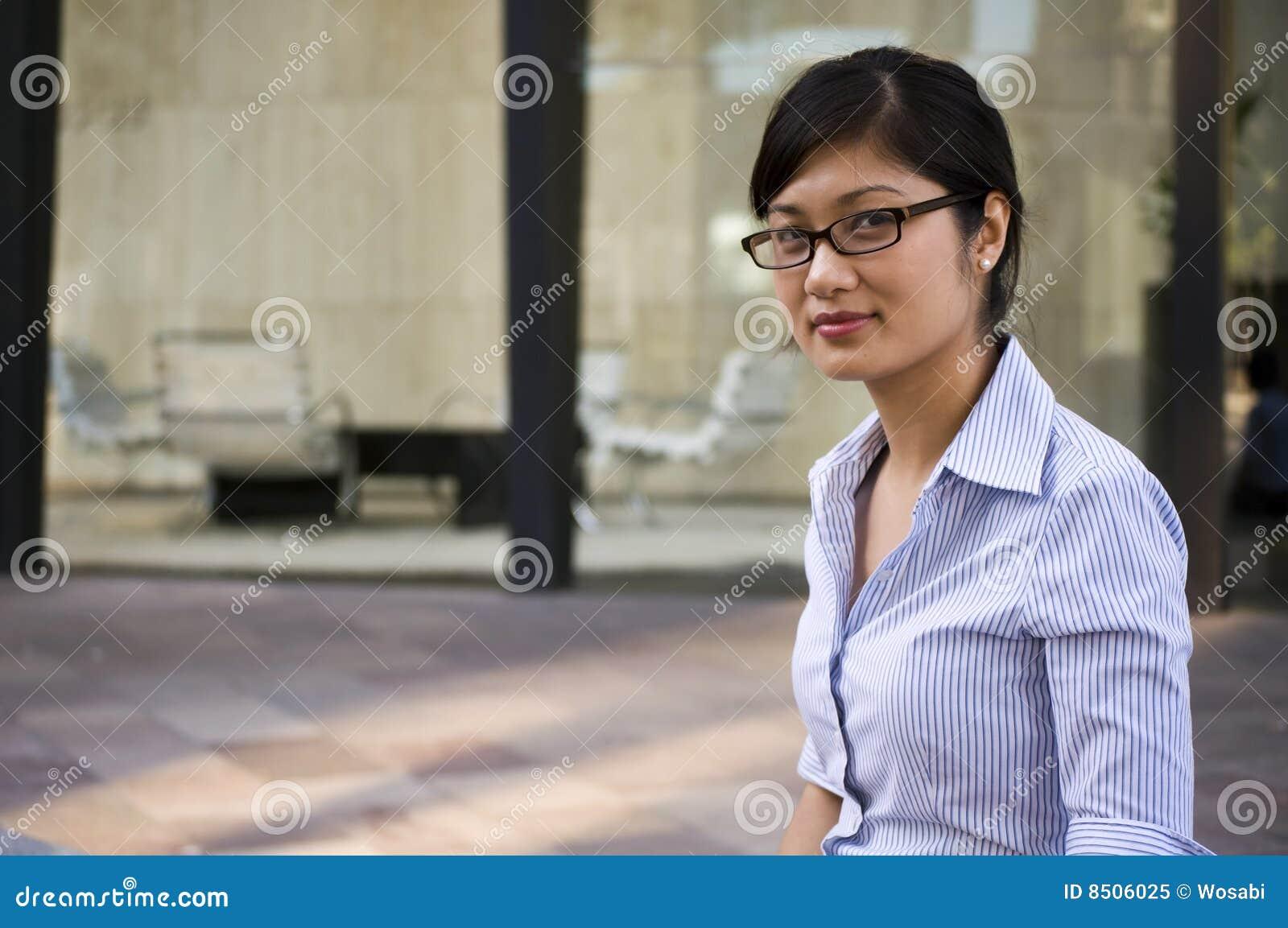 Professional Intelligent Woman Royalty Free Stock Photo