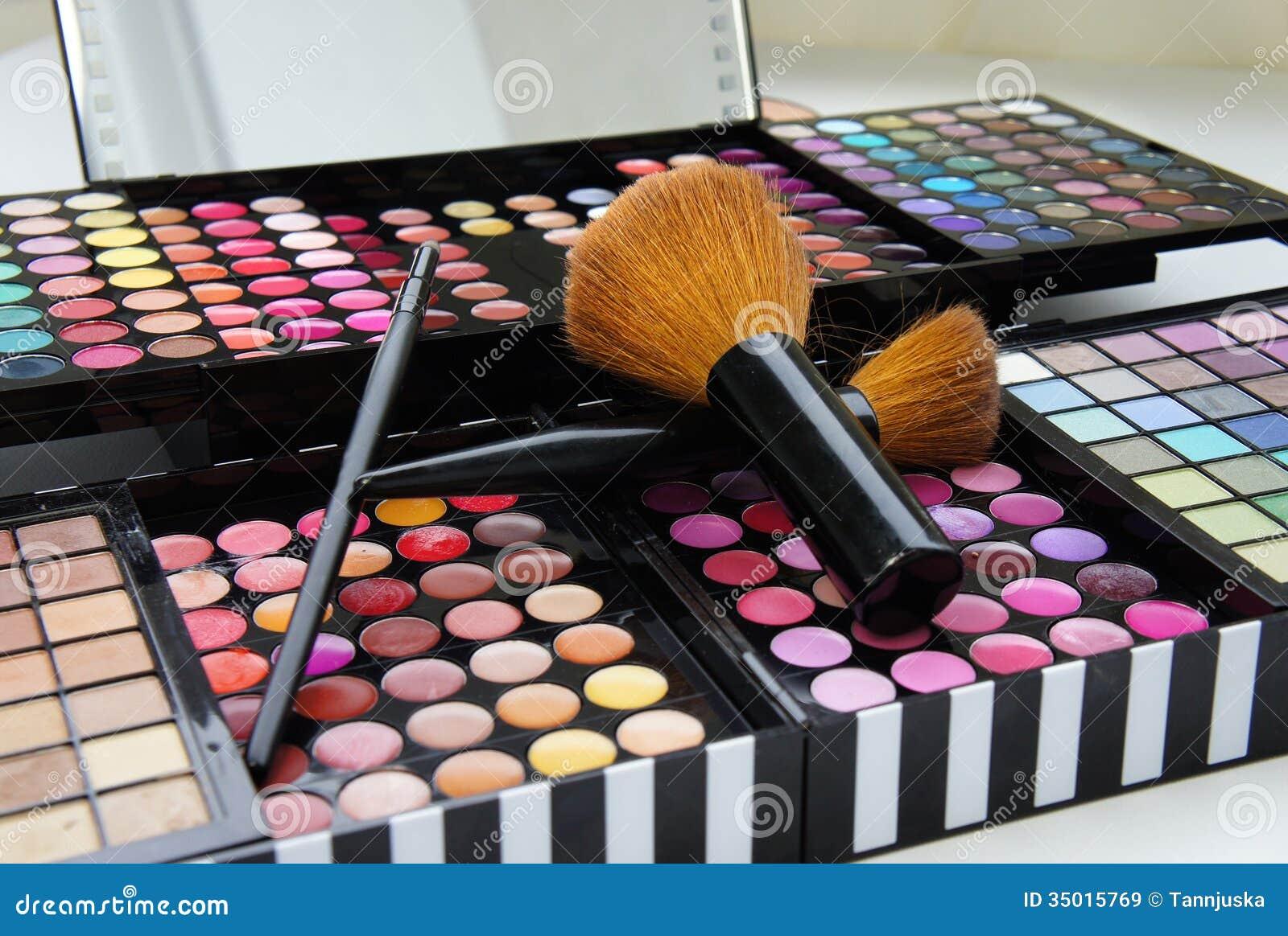 Professional Make Palette Brushes
