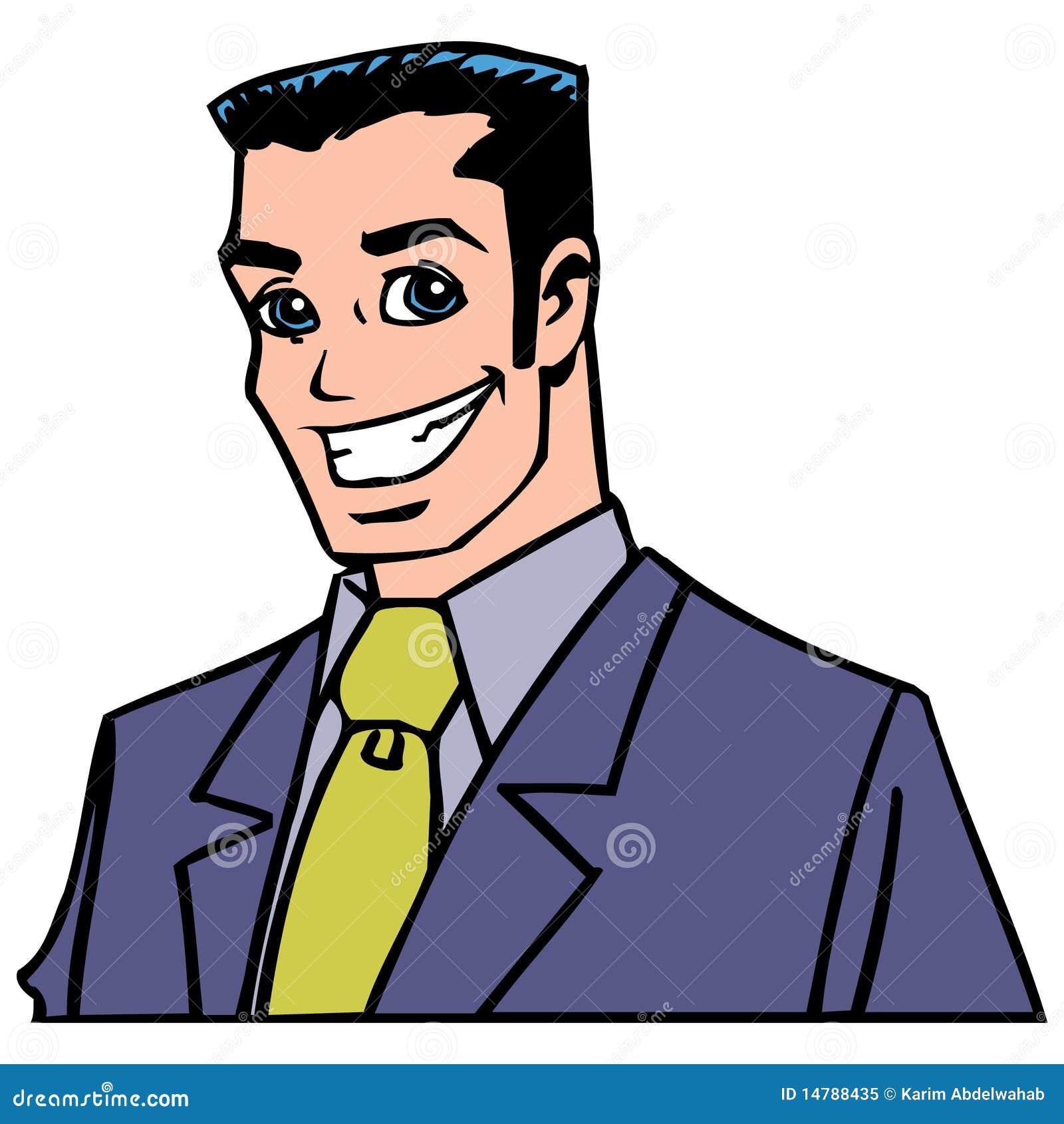 Professional Man Cartoon Royalty Free Stock Photo Image
