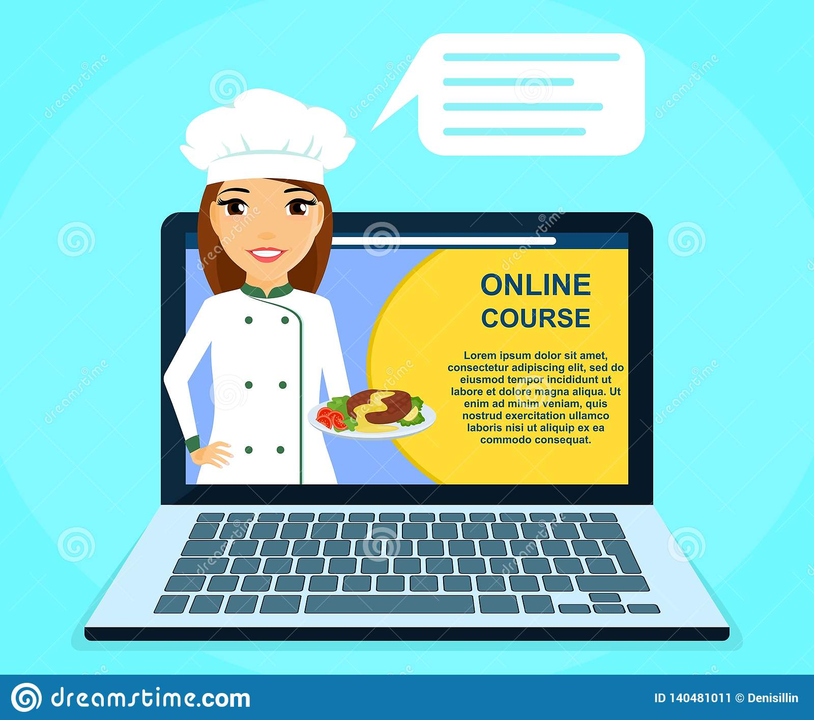 Professional Online Courses Of Culinary Skills  Young Girl Chef With