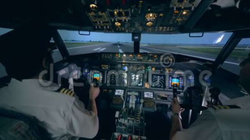 Amateur flight simulators photos 1