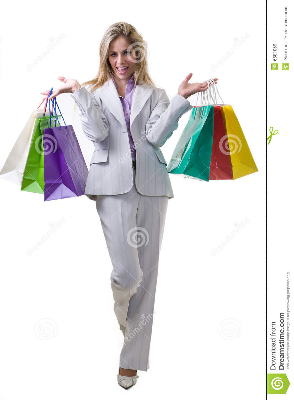 professional shopper royalty free stock images image