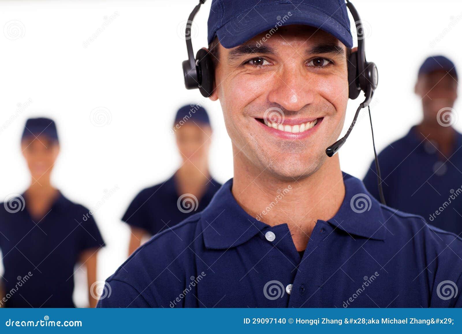 Professional IT technician