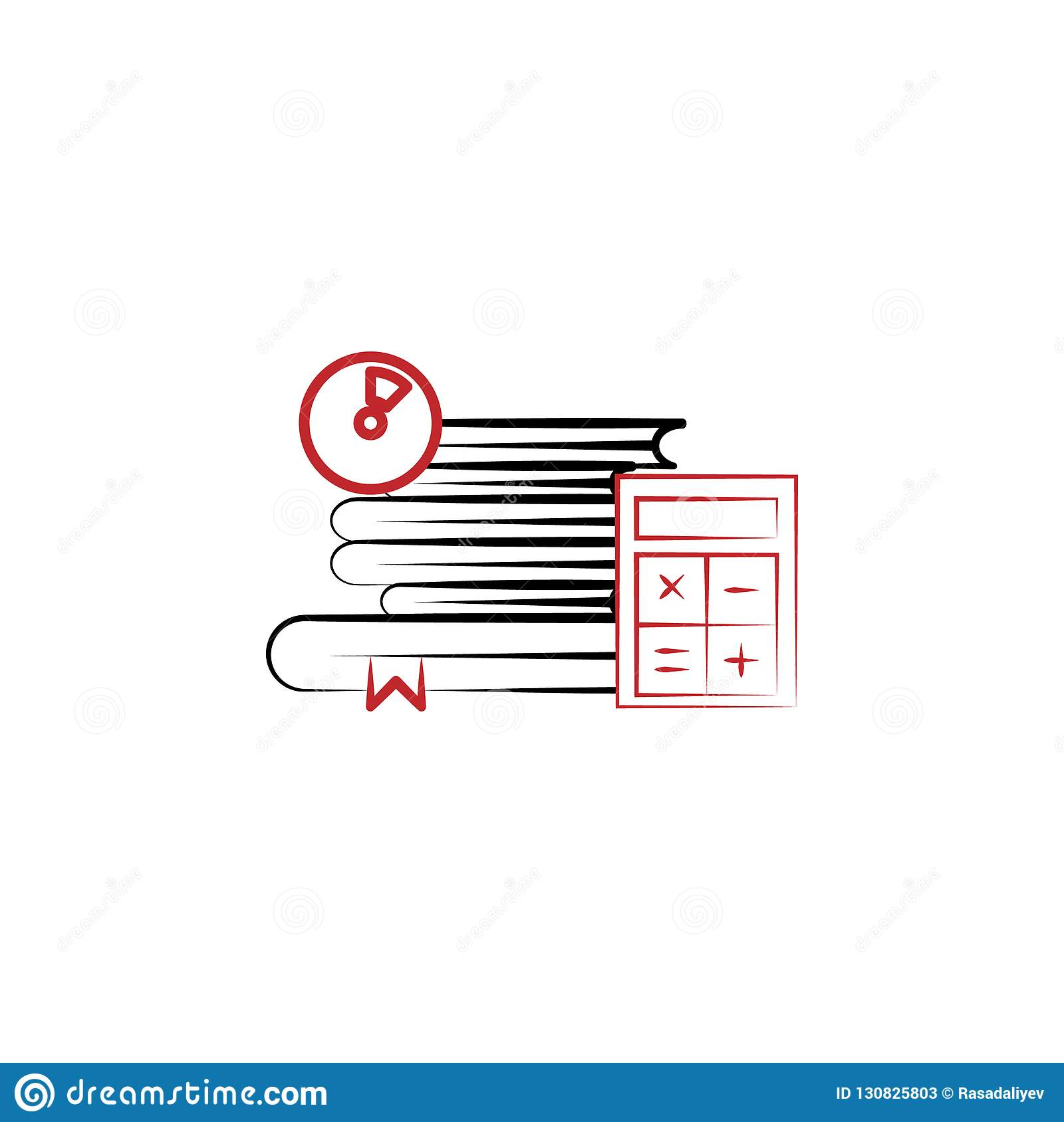 bbe63dd85187 professional training 2 colored line icon. Simple colored element  illustration. professional training outline symbol